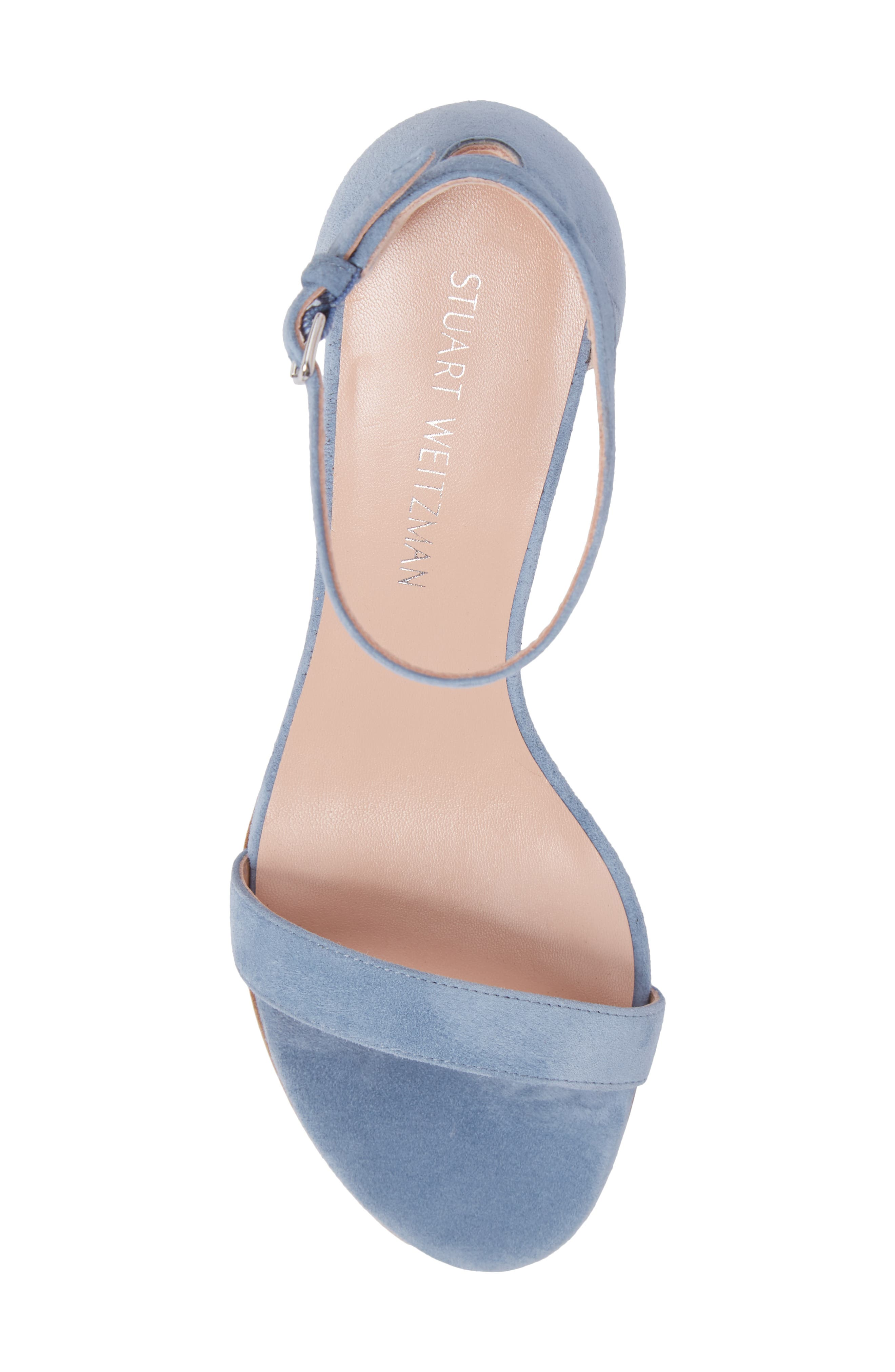 NearlyNude Ankle Strap Sandal,                             Alternate thumbnail 114, color,