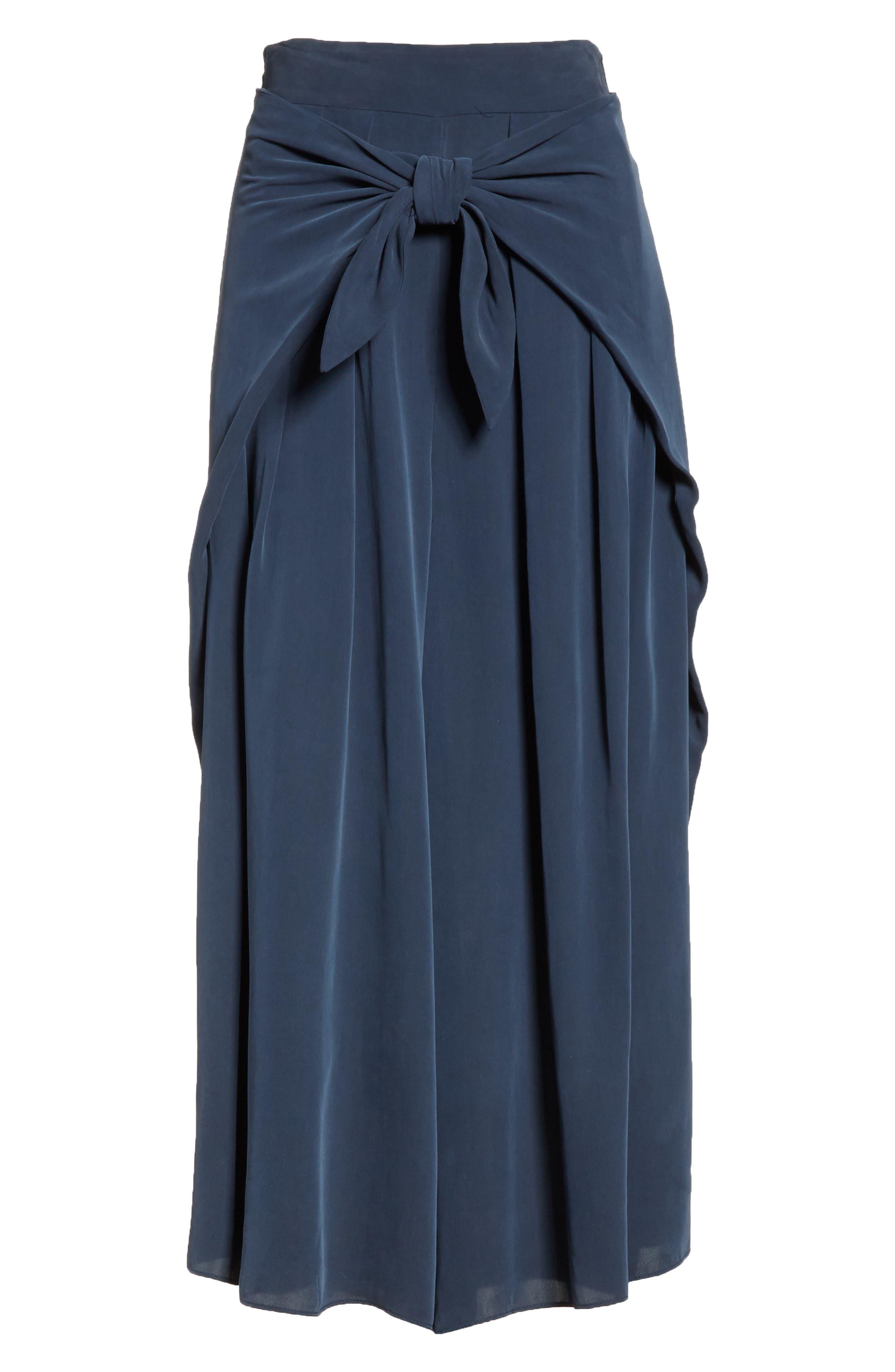 Sarong Tie Culottes,                             Alternate thumbnail 6, color,                             410