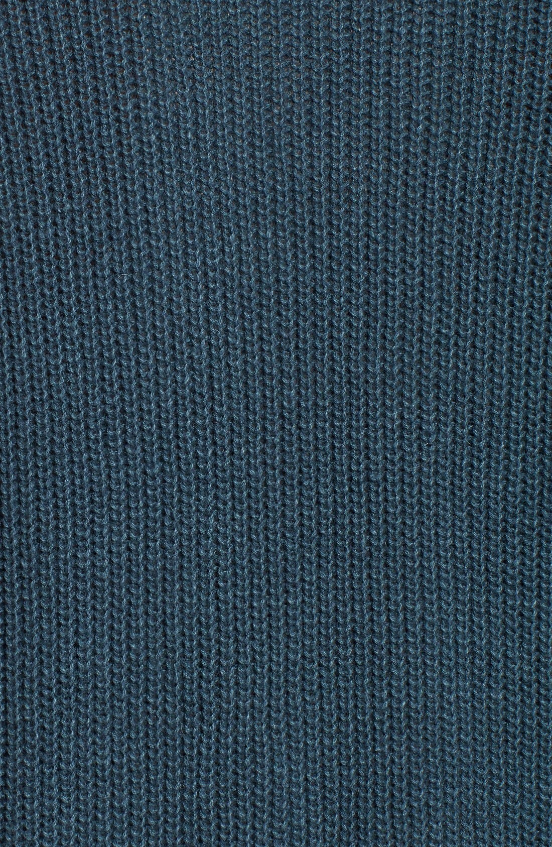 Shaker Stitch Open Front Cardigan,                             Alternate thumbnail 16, color,