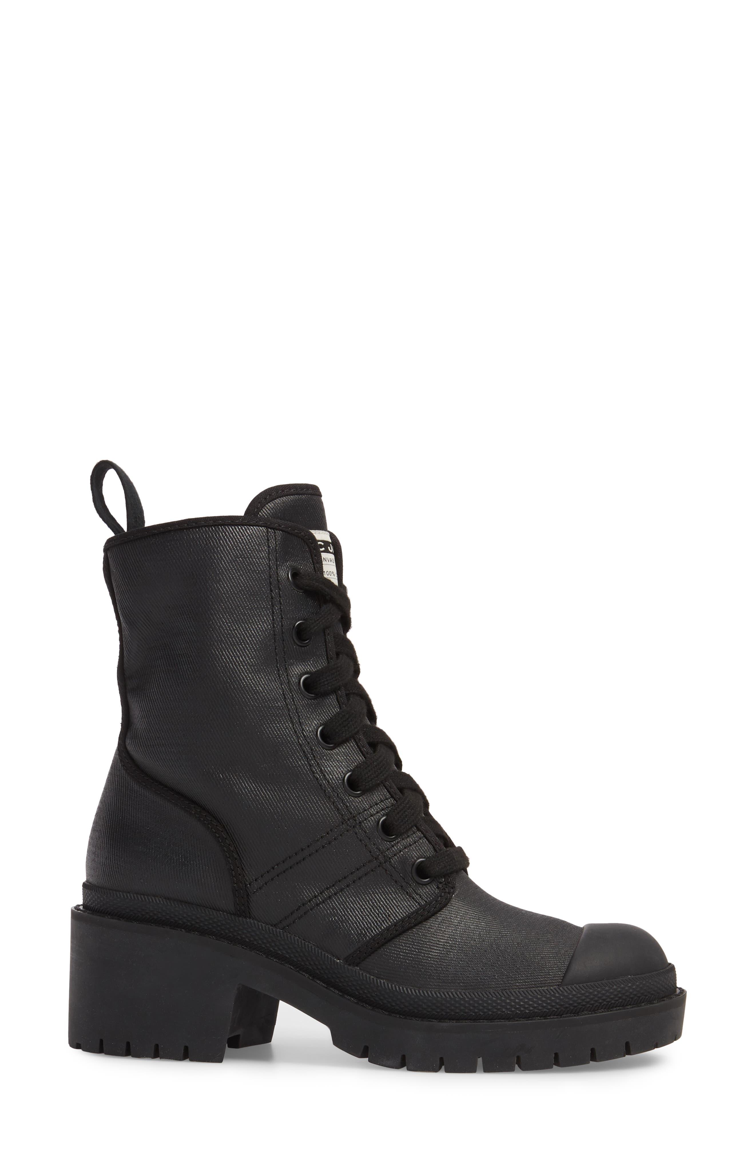 Bristol Lace-Up Boot,                             Alternate thumbnail 3, color,                             001