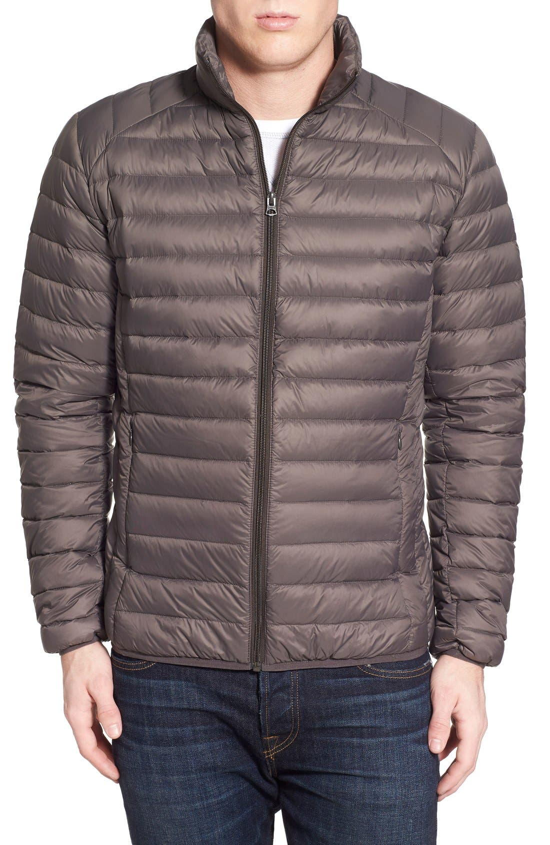 Quilted Down Jacket,                             Main thumbnail 3, color,