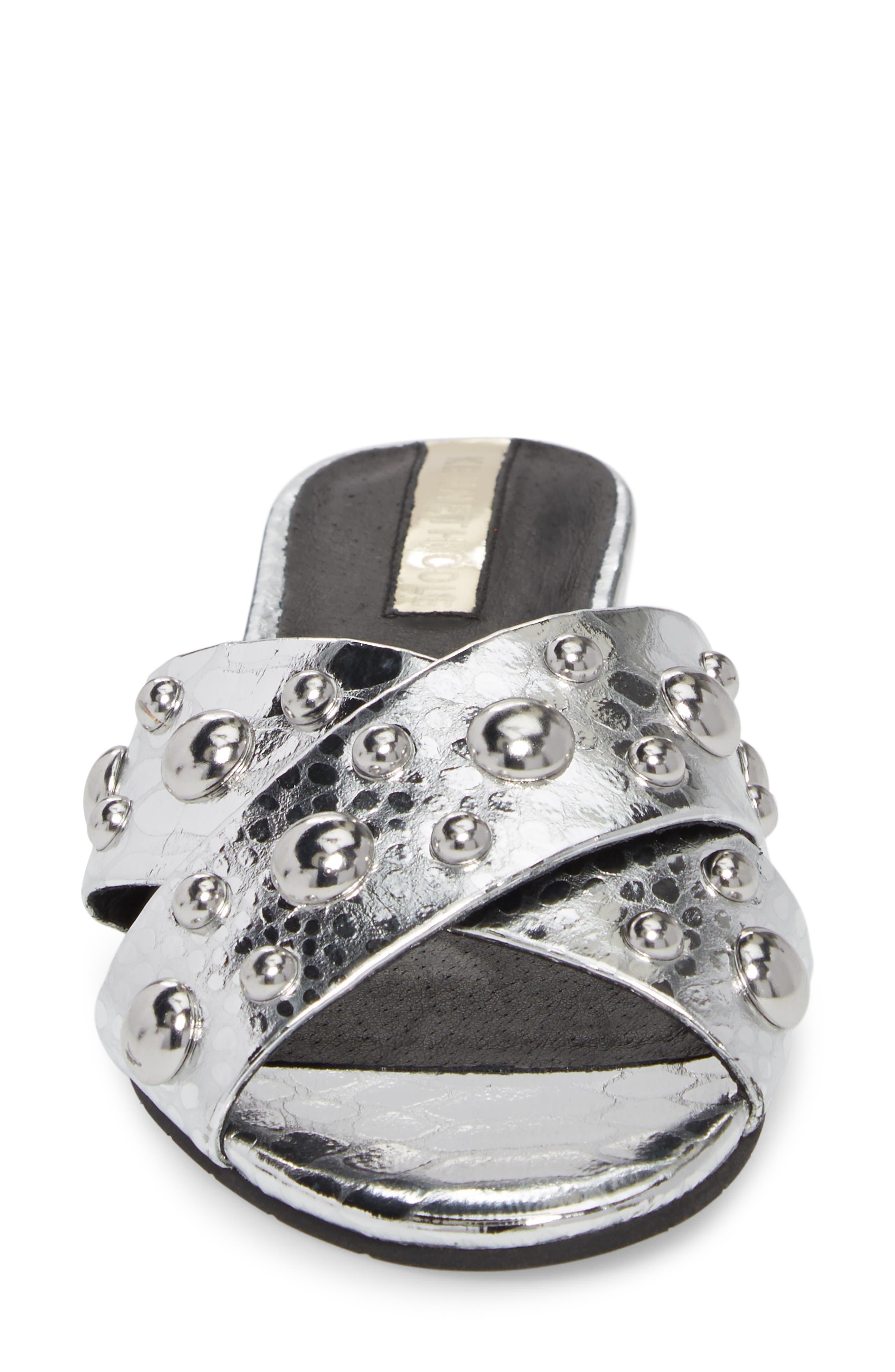 Verna Studded Slide Sandal,                             Alternate thumbnail 11, color,