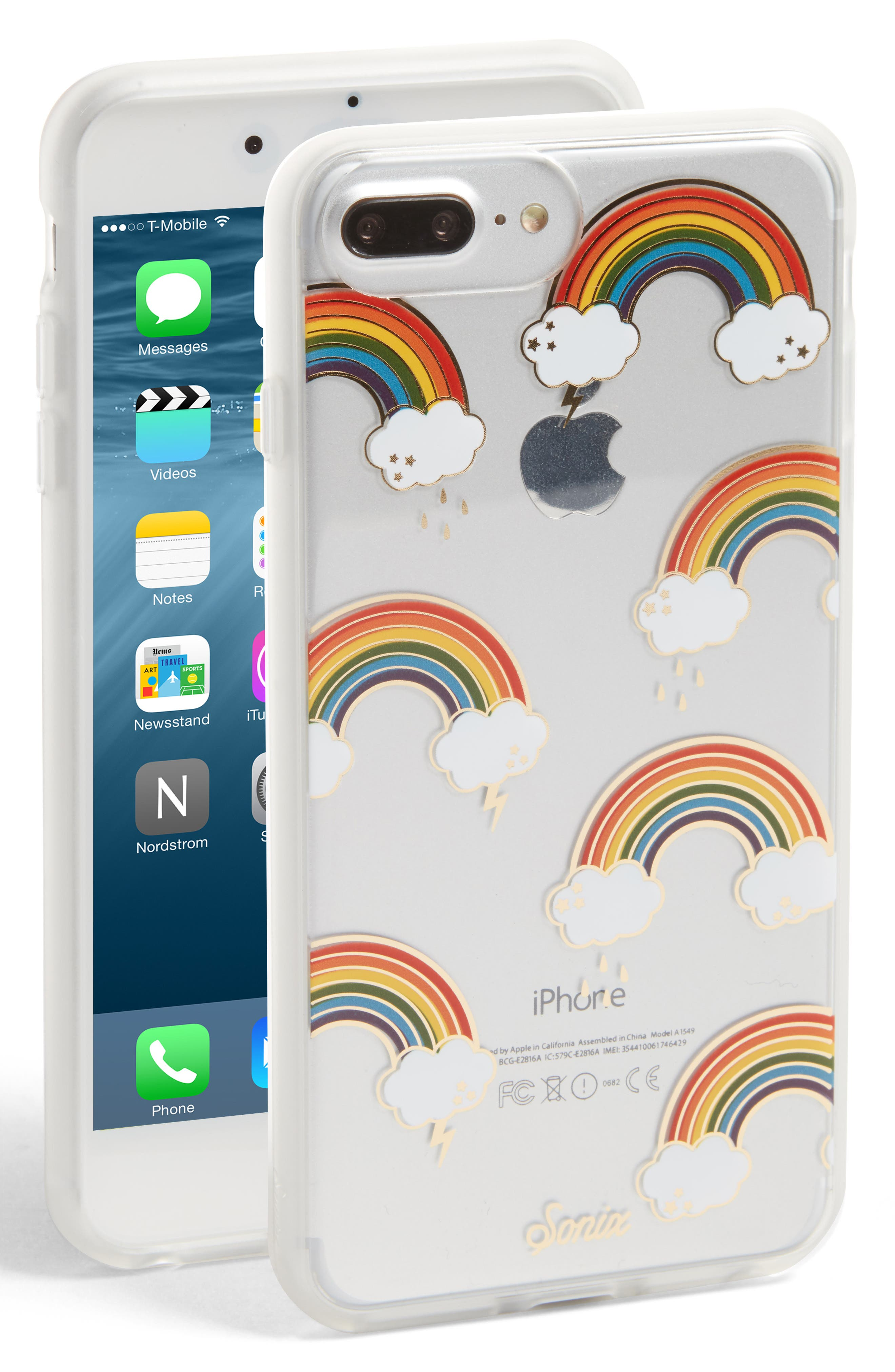 Stormy iPhone 6/6s/7/8 & 6/6s/7/8 Plus Case,                             Main thumbnail 1, color,                             600