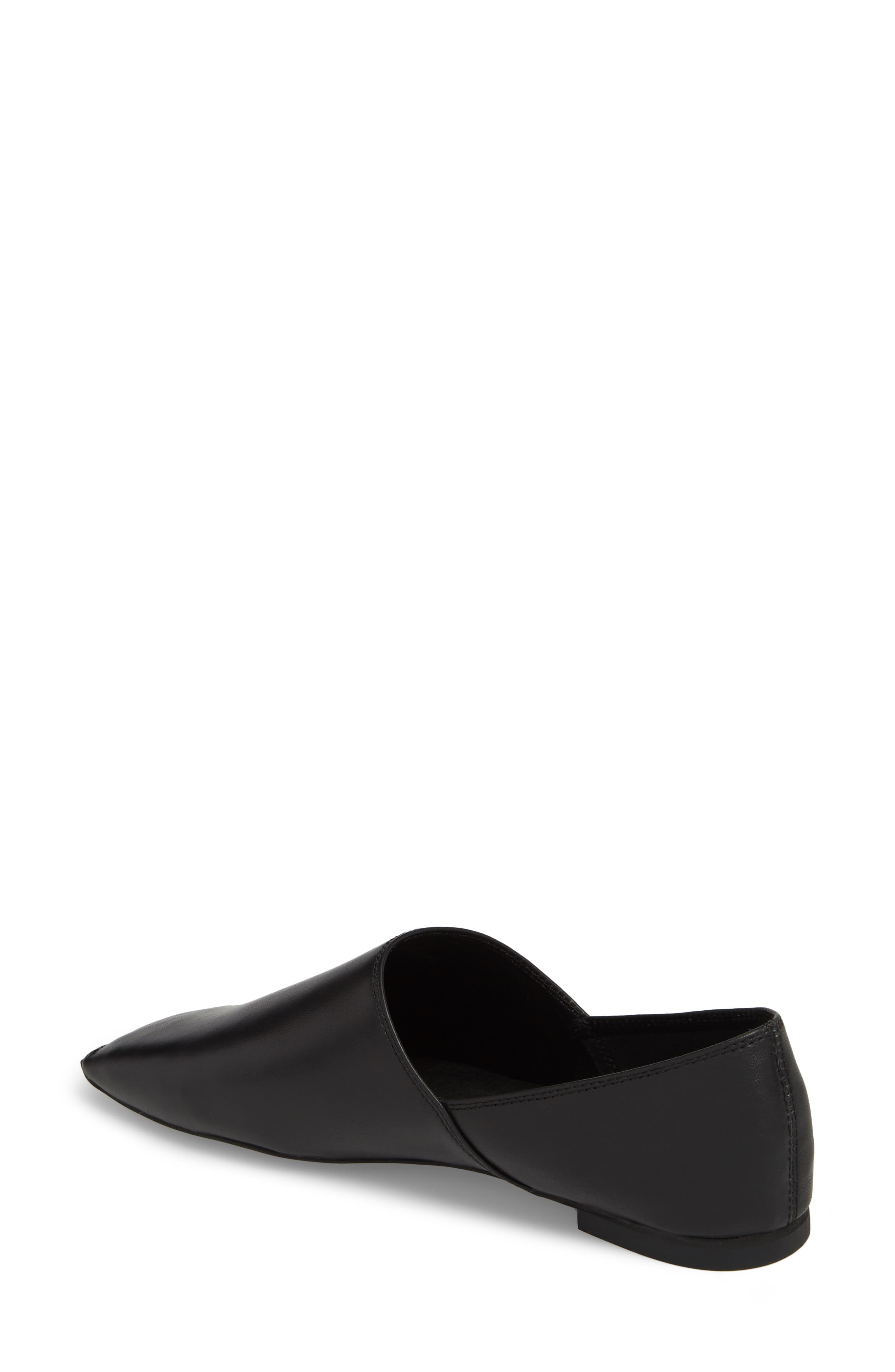 JEFFREY CAMPBELL,                             Lanvale Blunted Toe Flat,                             Alternate thumbnail 2, color,                             001