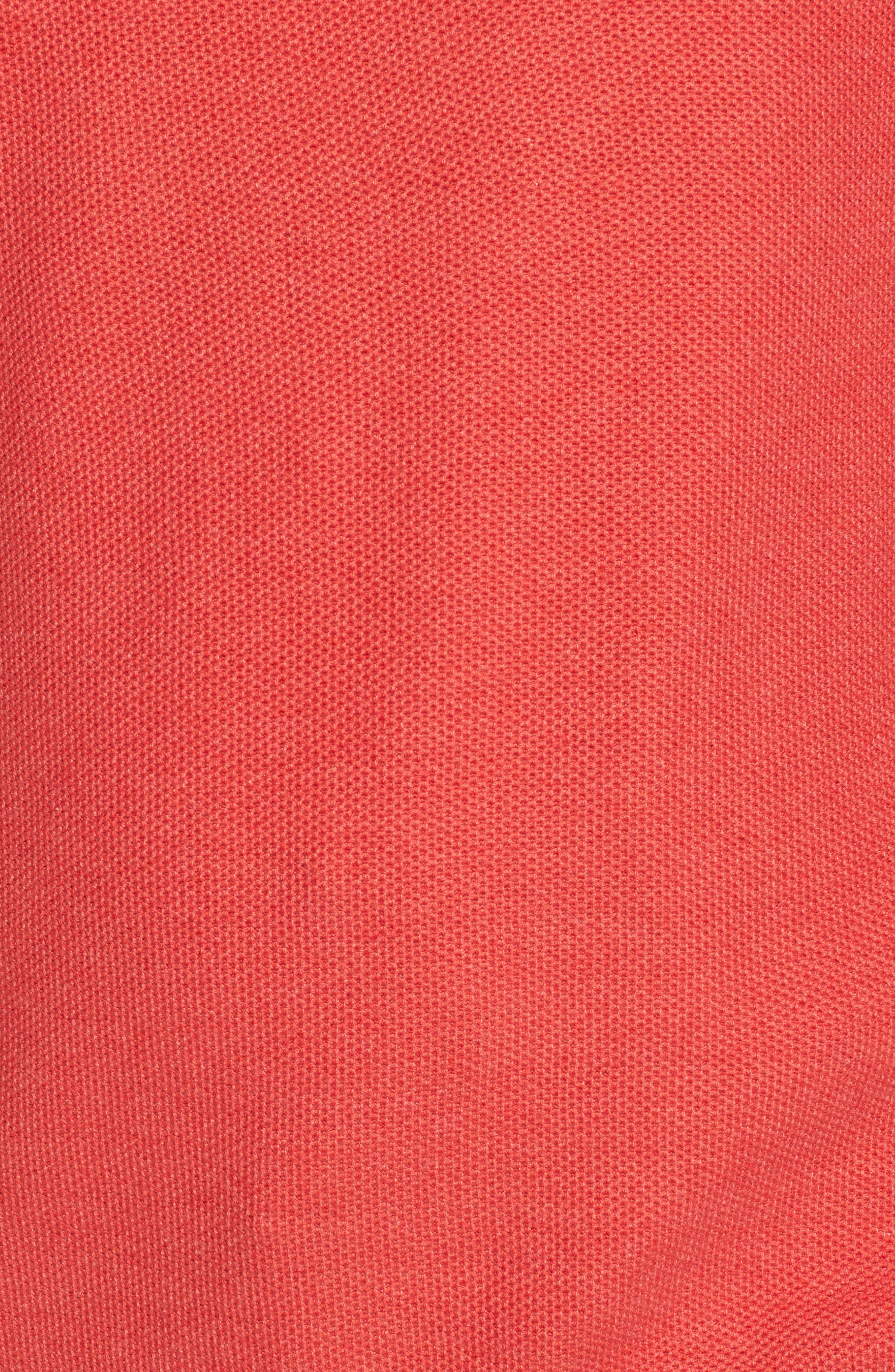 Sorrel Tipped Quarter Zip Sweater,                             Alternate thumbnail 5, color,                             950