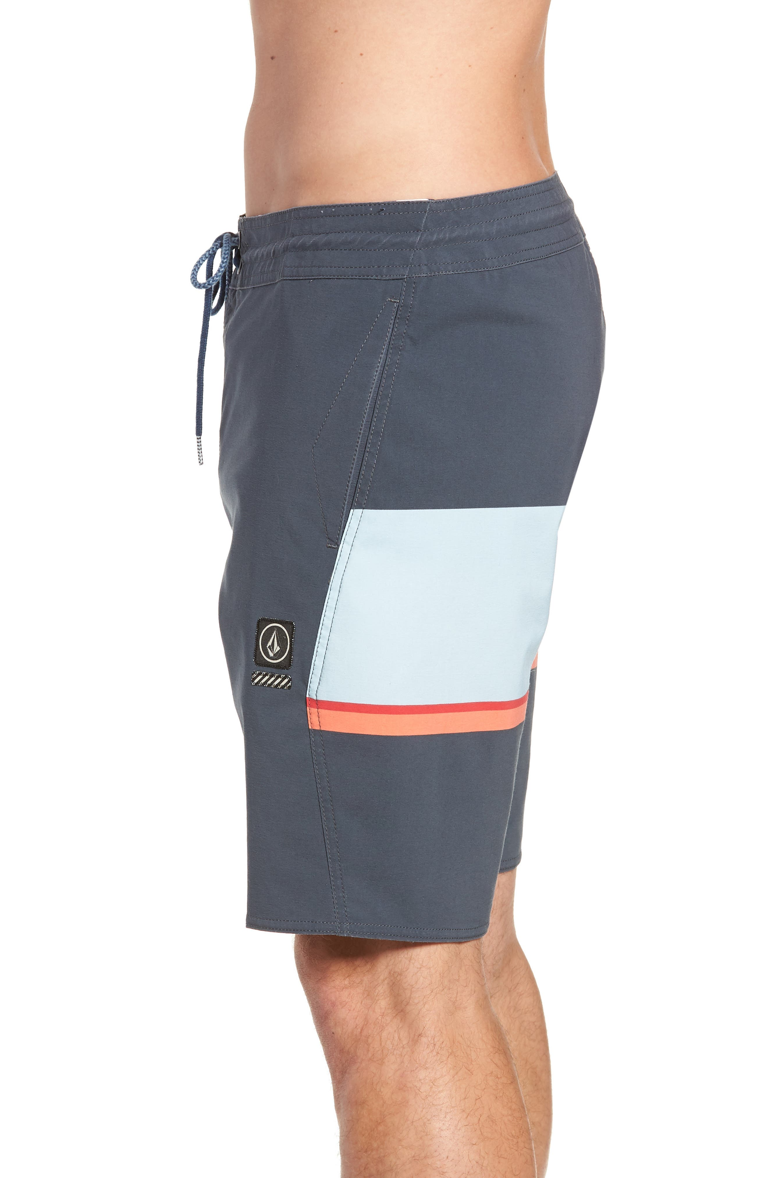 3 Quarta Stoney Board Shorts,                             Alternate thumbnail 3, color,                             MEDIUM BLUE