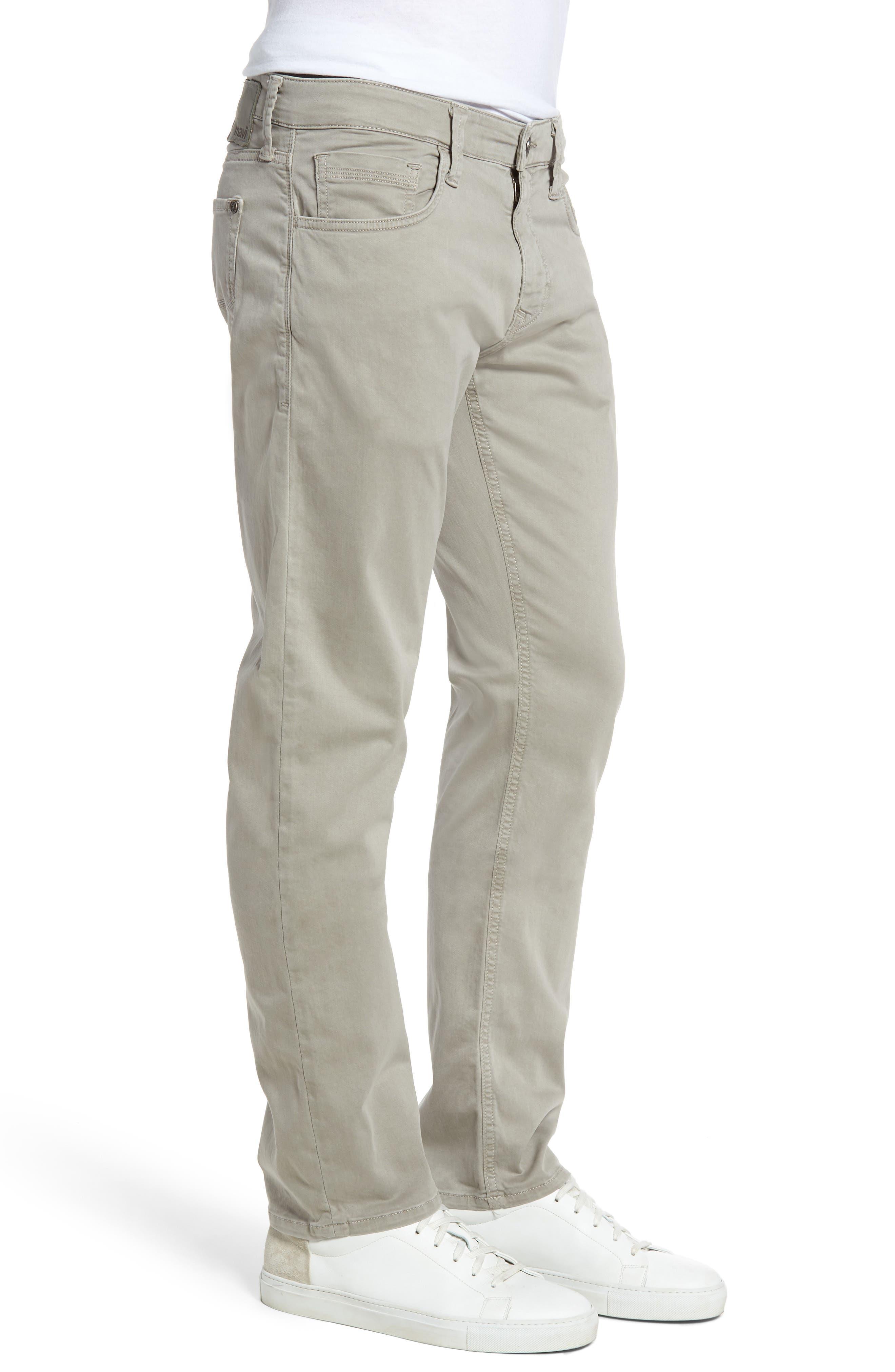 Zach Straight Leg Pants,                             Alternate thumbnail 3, color,                             ZACH GREY TWILL
