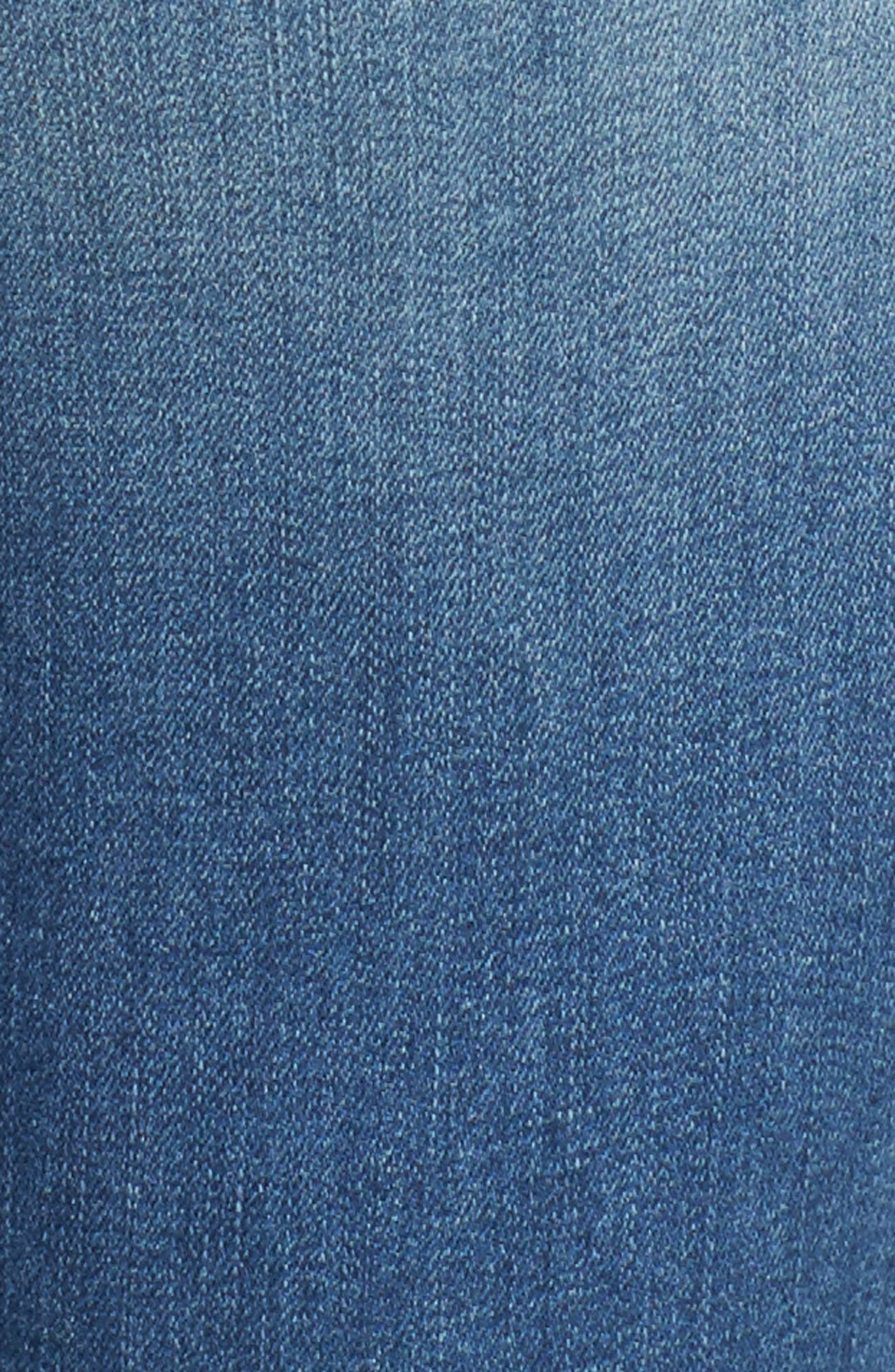 WIT & WISDOM,                             Ab-solution Itty Bitty Bootcut Jeans,                             Alternate thumbnail 6, color,                             LIGHT BLUE