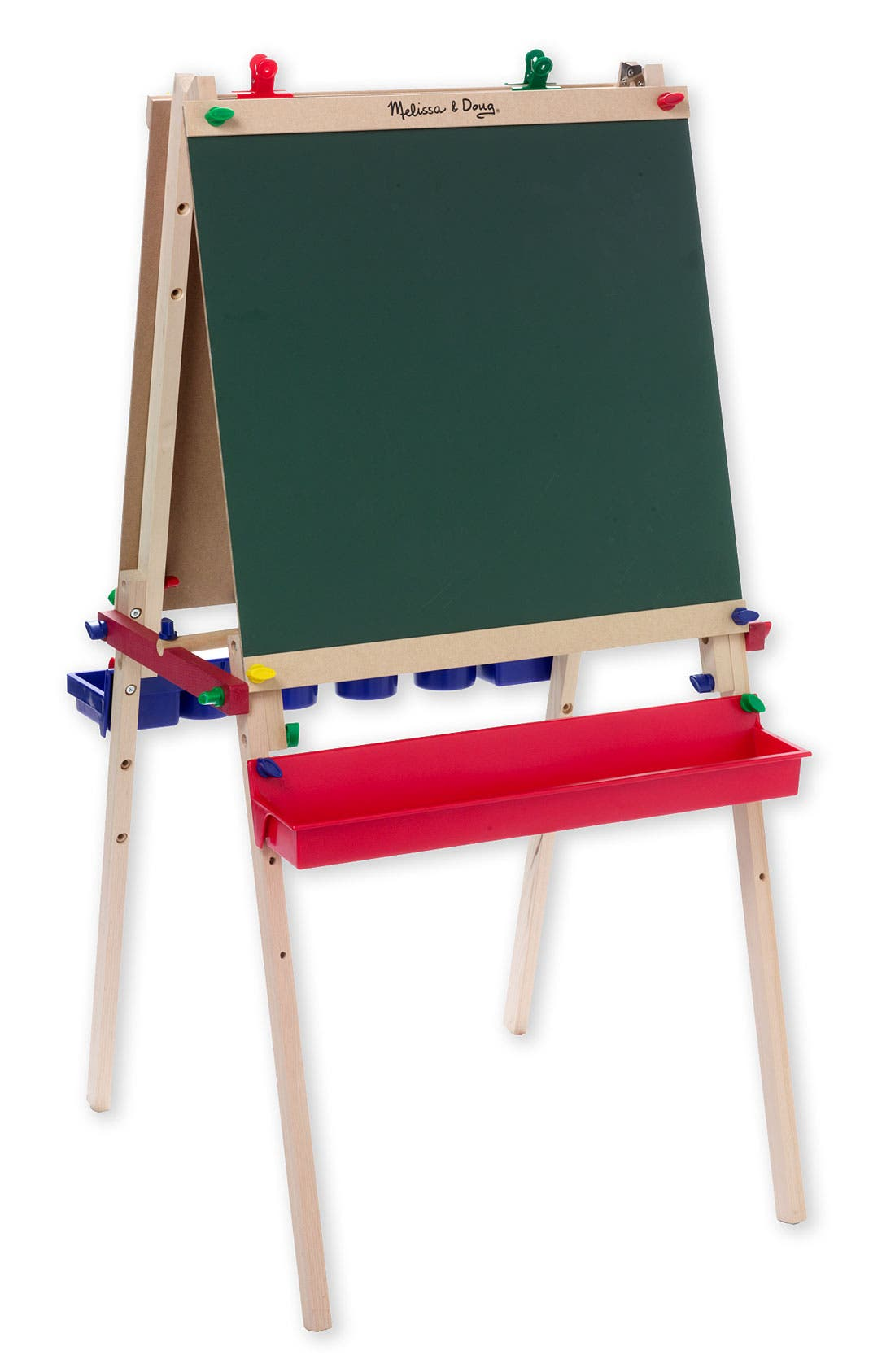 Standing Wooden Art Easel,                             Alternate thumbnail 2, color,                             MULTI