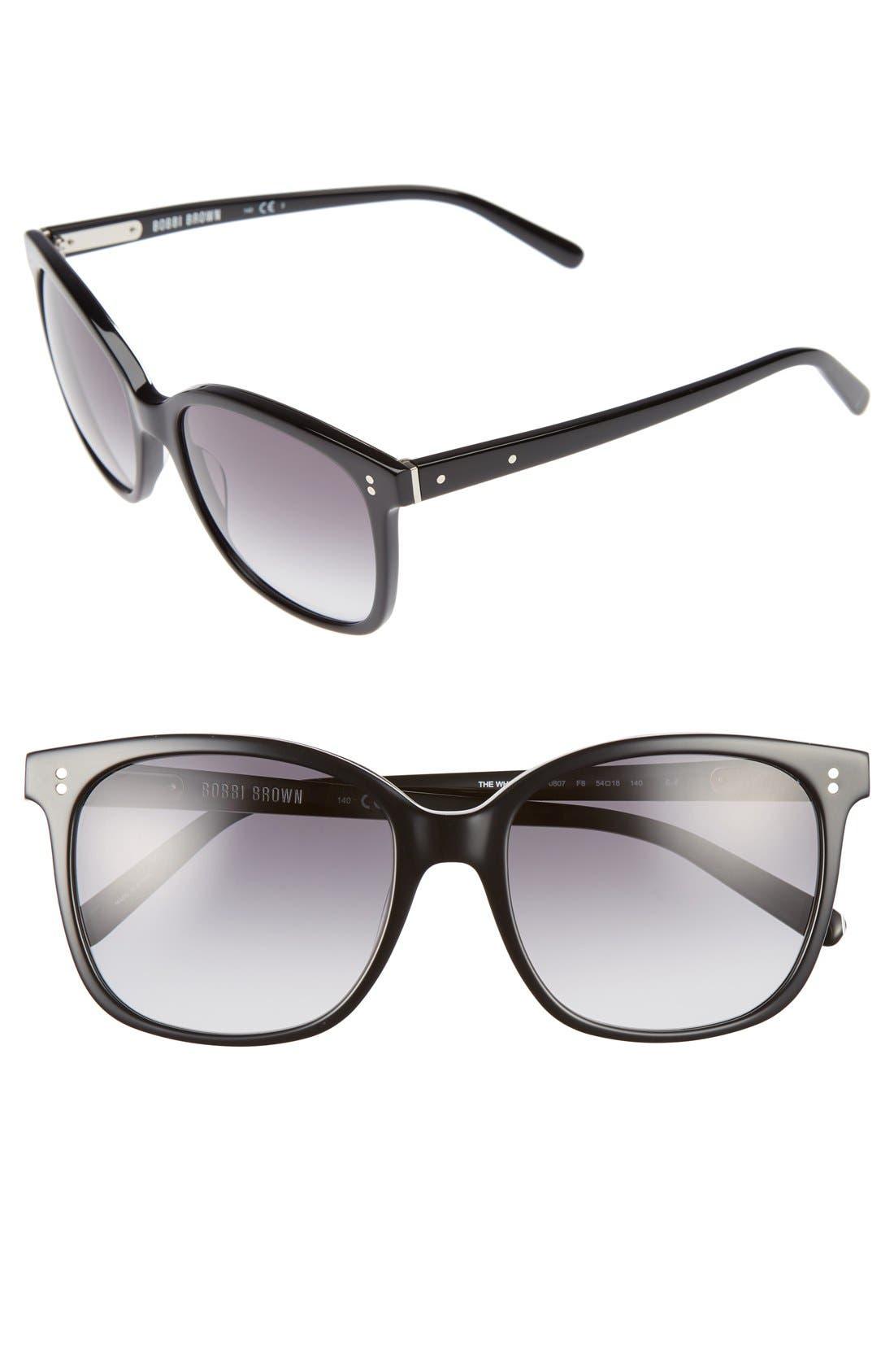 The Whitner 54mm Sunglasses,                         Main,                         color, 001