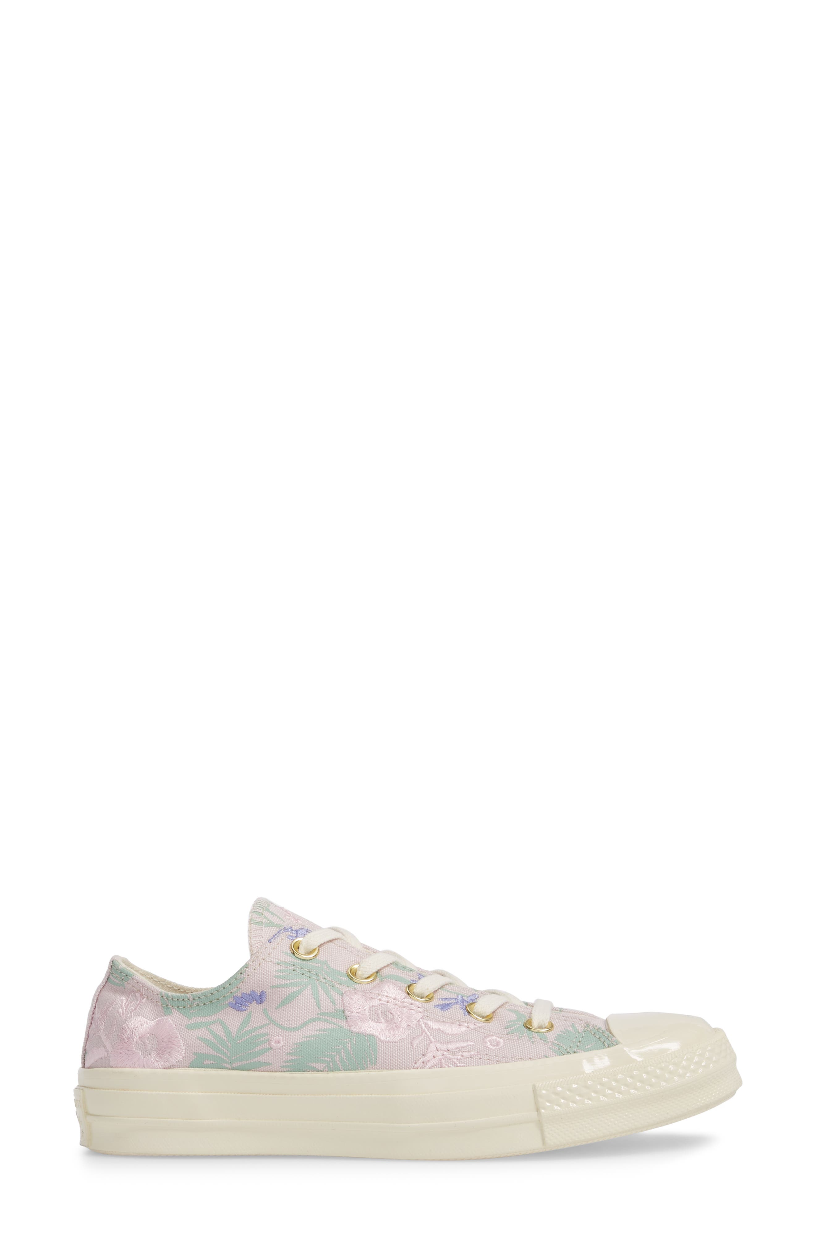 Chuck Taylor<sup>®</sup> All Star<sup>®</sup> 70 Palm Print Low Top Sneaker,                             Alternate thumbnail 3, color,                             658