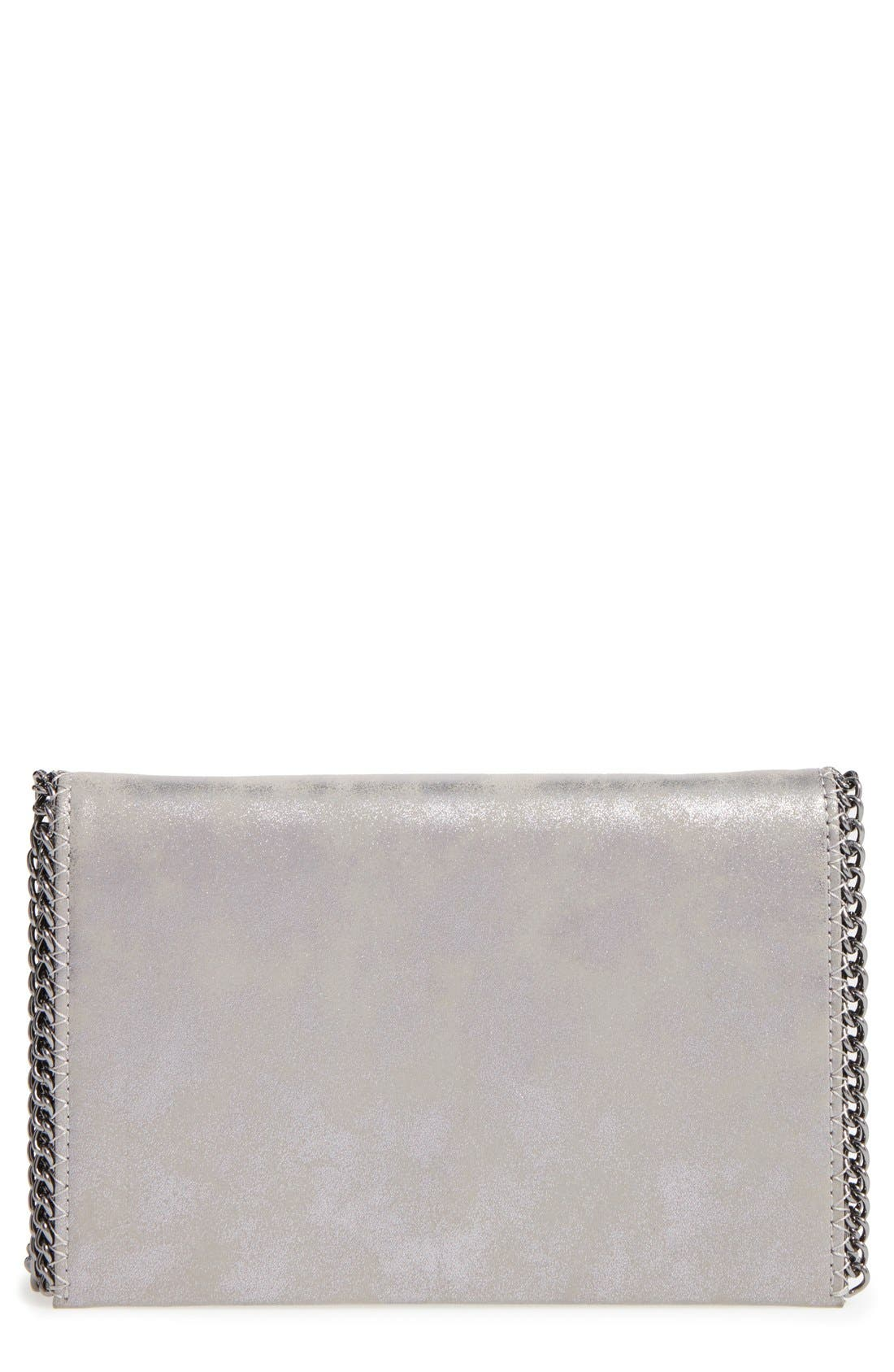 Faux Leather Crossbody Clutch,                             Main thumbnail 6, color,