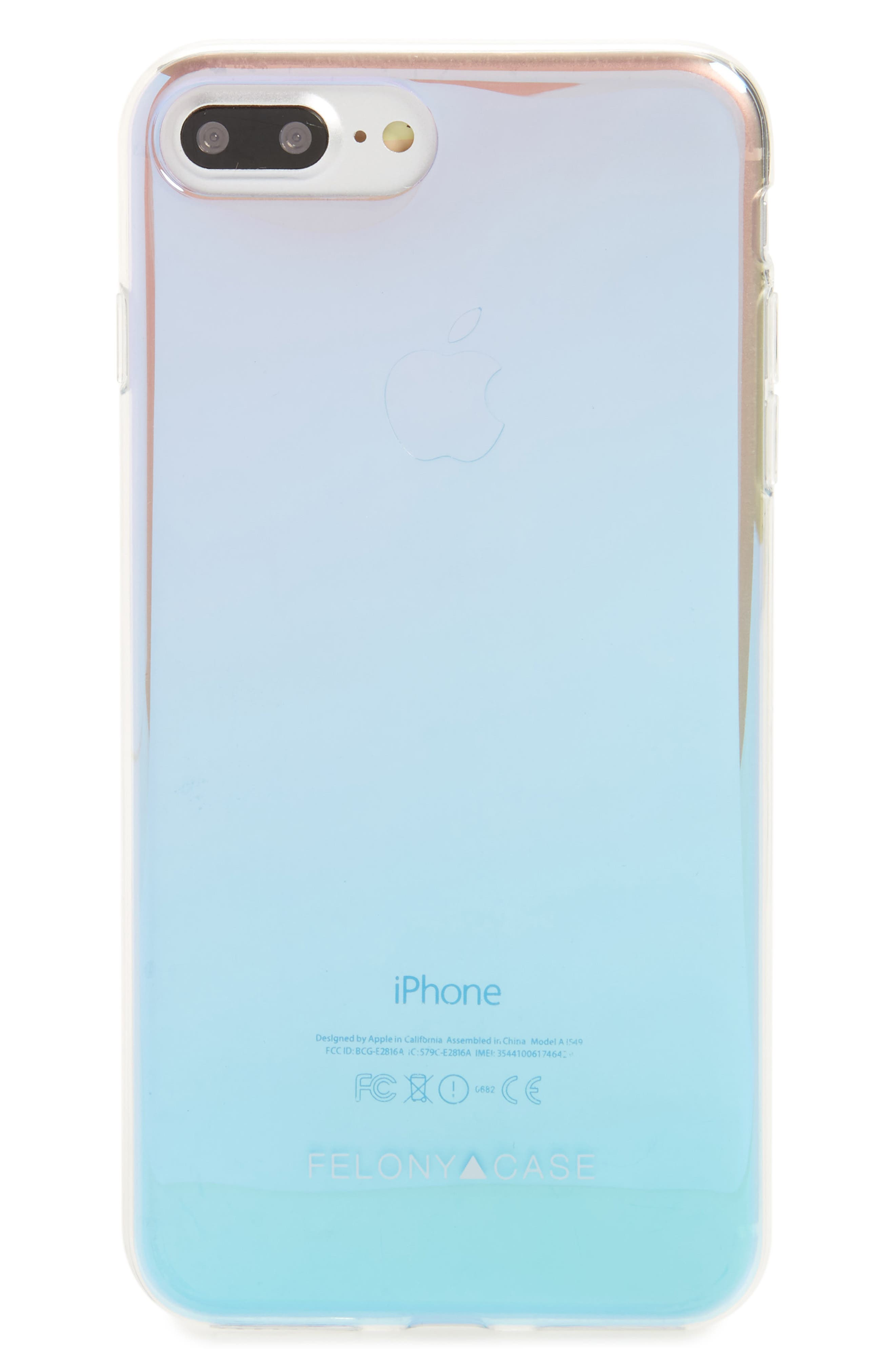Holographic iPhone 7/8 & 7/8 Plus Case,                         Main,                         color, 040
