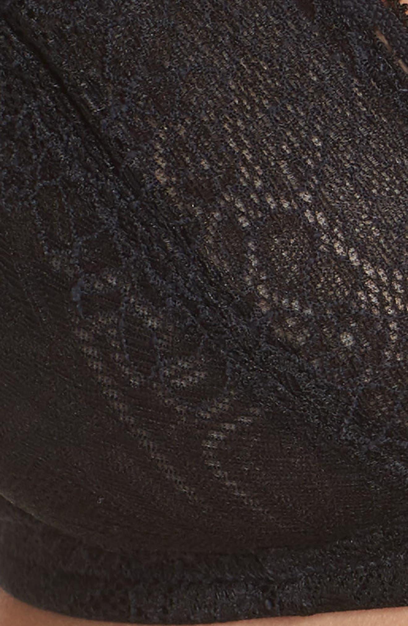 Lace Bralette,                             Alternate thumbnail 7, color,                             TRUE BLACK