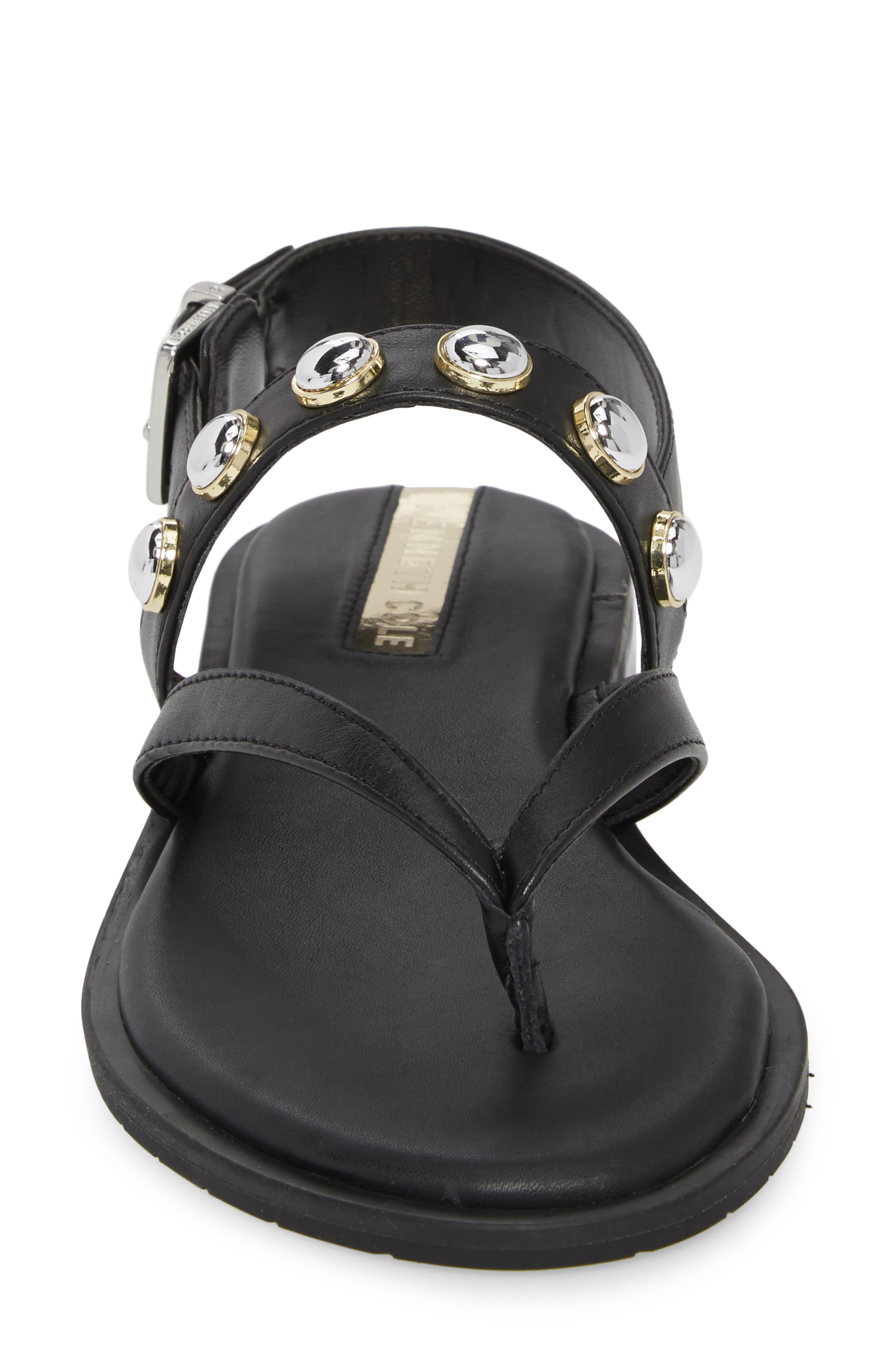 Tama Studded Sandal,                             Alternate thumbnail 4, color,                             001