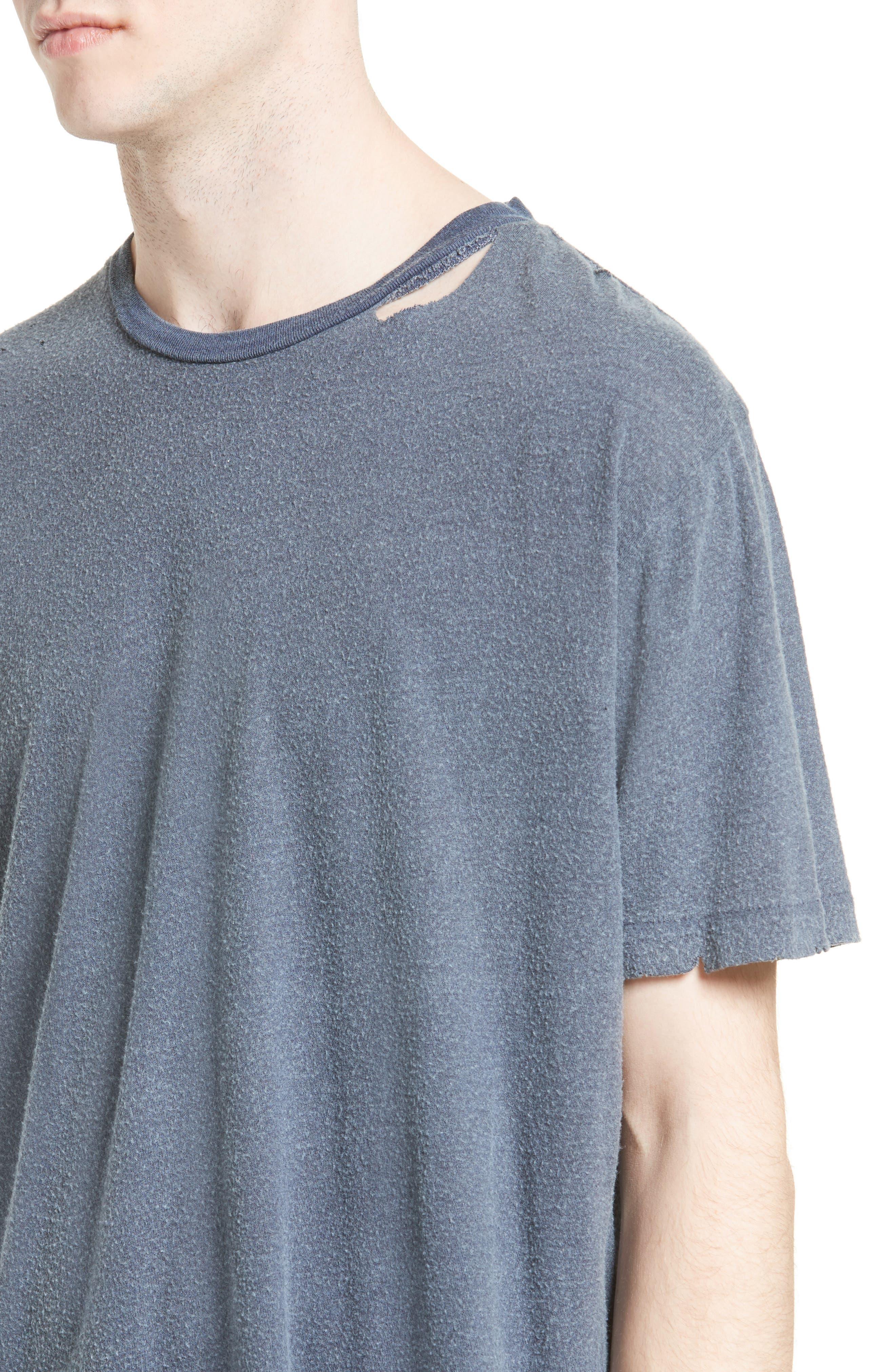 Finnis Destroyed T-Shirt,                             Alternate thumbnail 12, color,