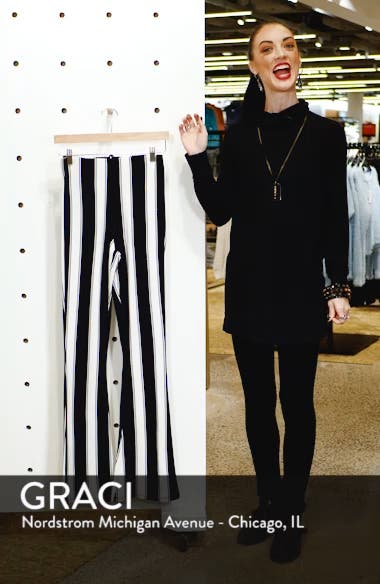 Stripe Flare Trousers, sales video thumbnail