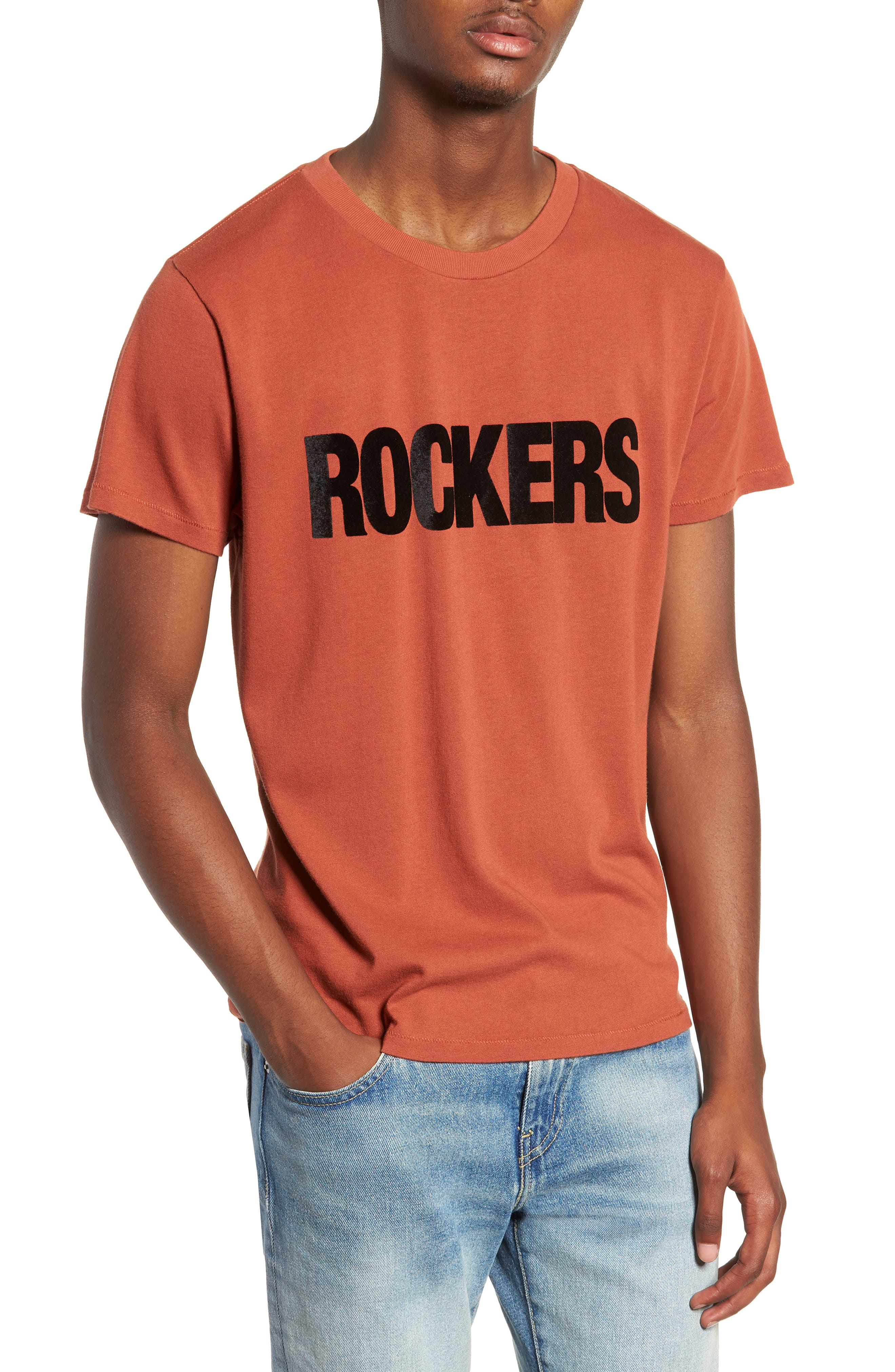 Levi's<sup>®</sup> Made & Crafted<sup>™</sup> Graphic Slim Fit T-Shirt,                         Main,                         color, 801