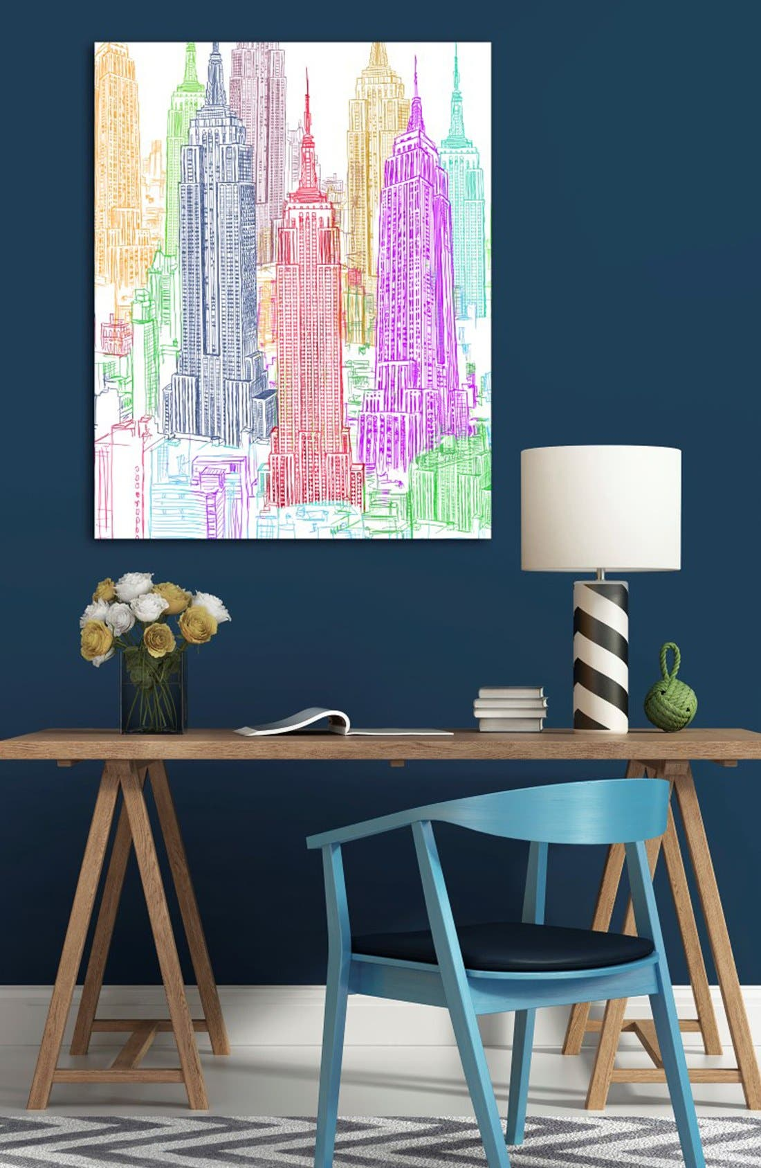 'Construct' Canvas Wall Art,                             Alternate thumbnail 2, color,                             600