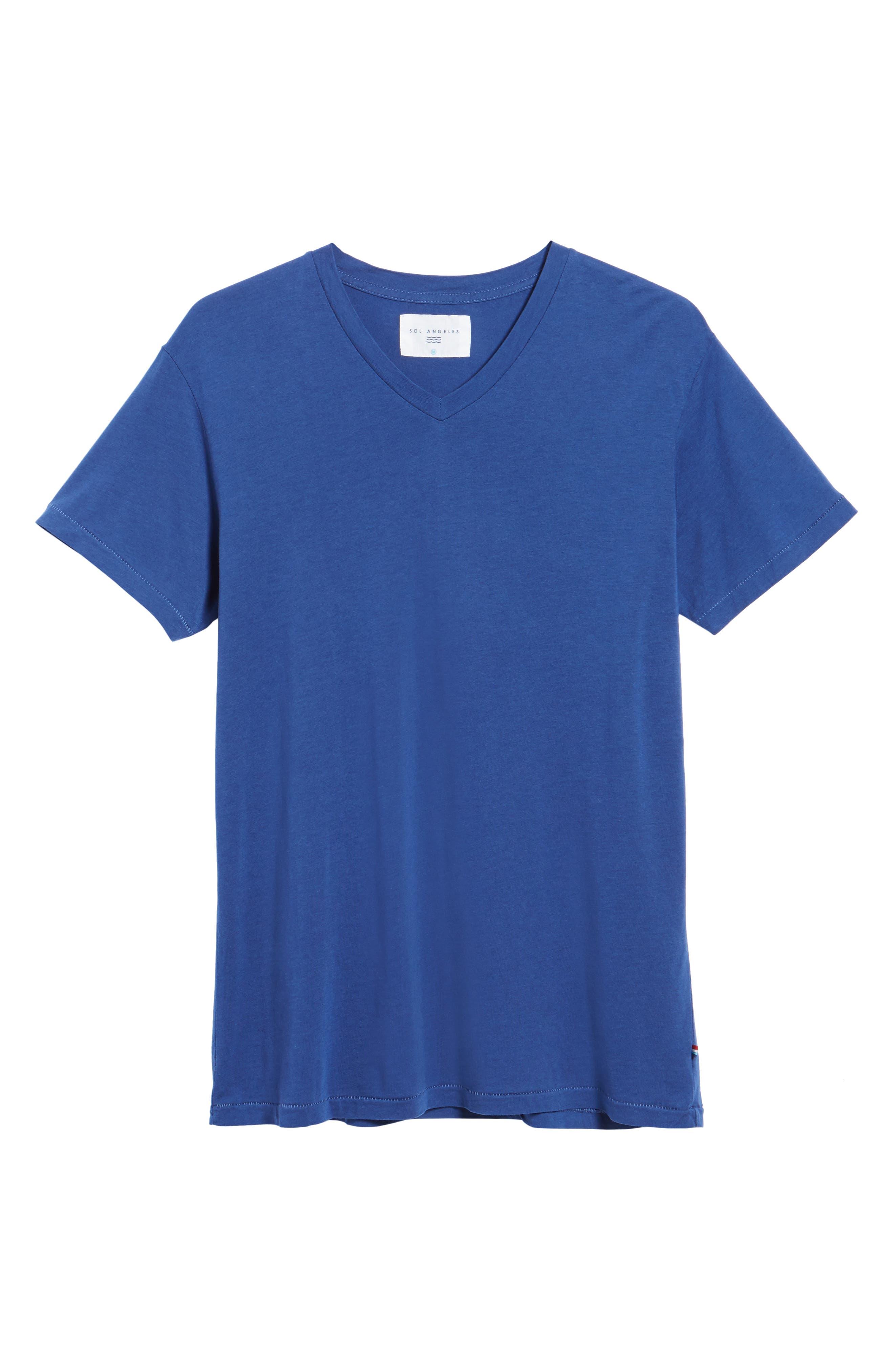 Essential V-Neck T-Shirt,                             Alternate thumbnail 52, color,