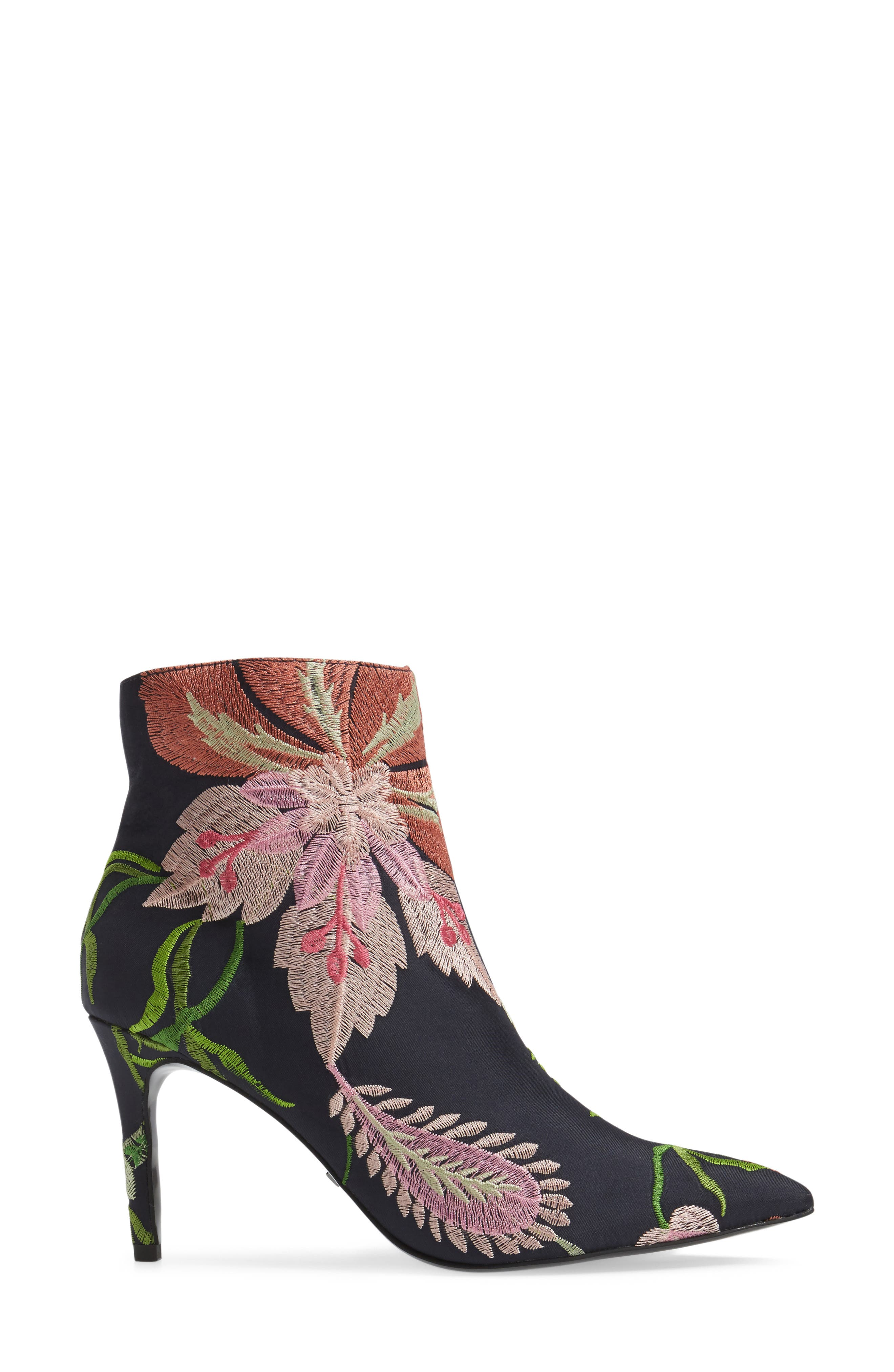 Mimosa Pointy Toe Bootie,                             Alternate thumbnail 3, color,                             002