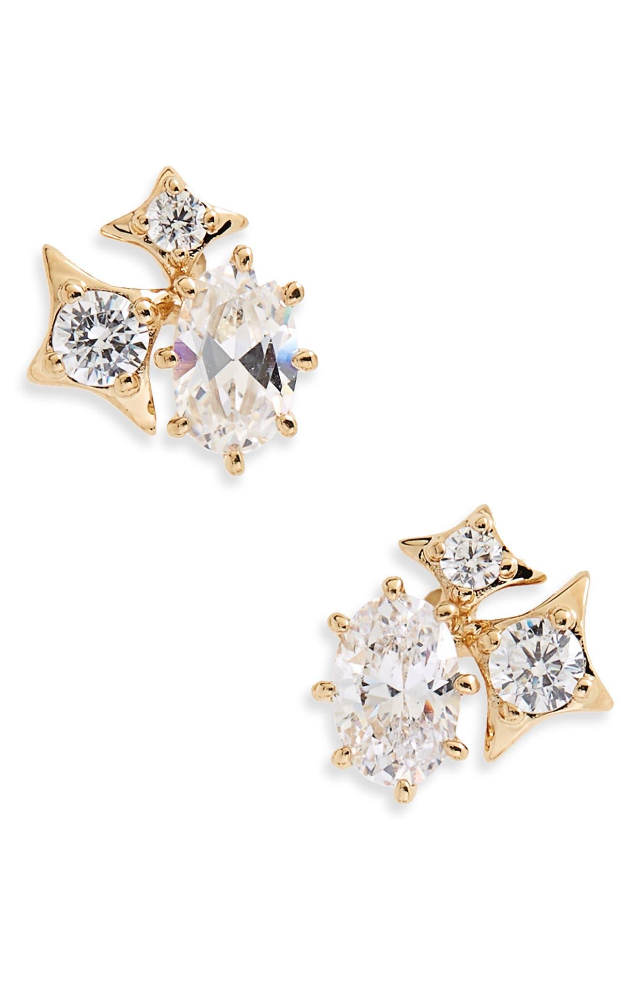 Boho Stud Earrings,                             Main thumbnail 3, color,