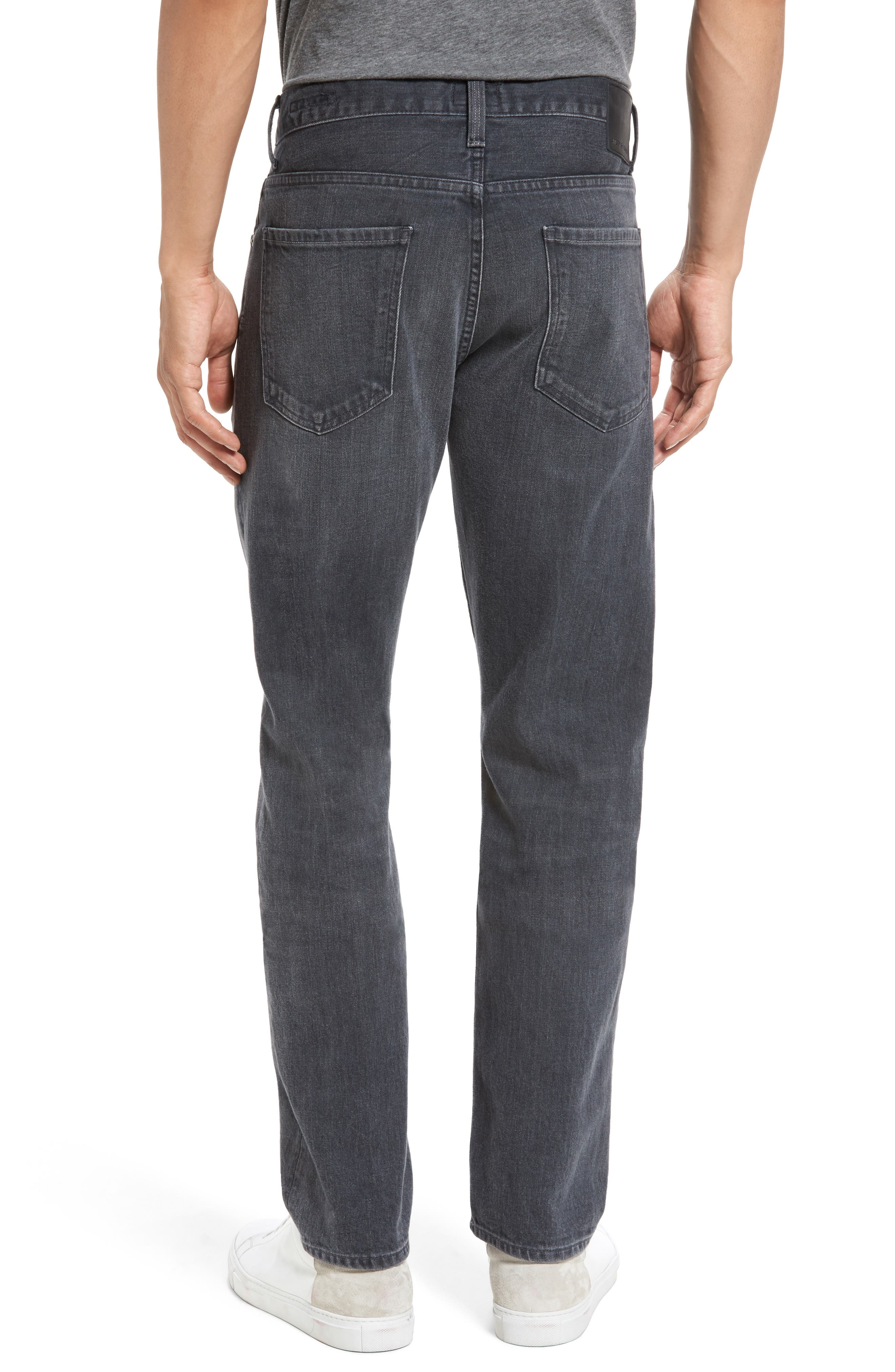 Bowery Slim Fit Jeans,                             Alternate thumbnail 2, color,                             022