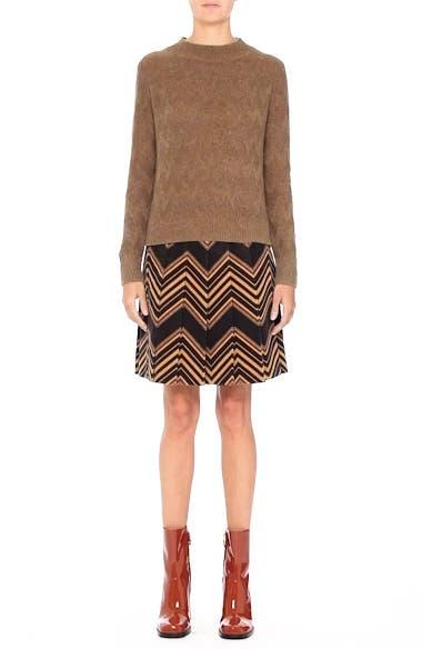 Chevron Knit Cashmere Sweater, video thumbnail