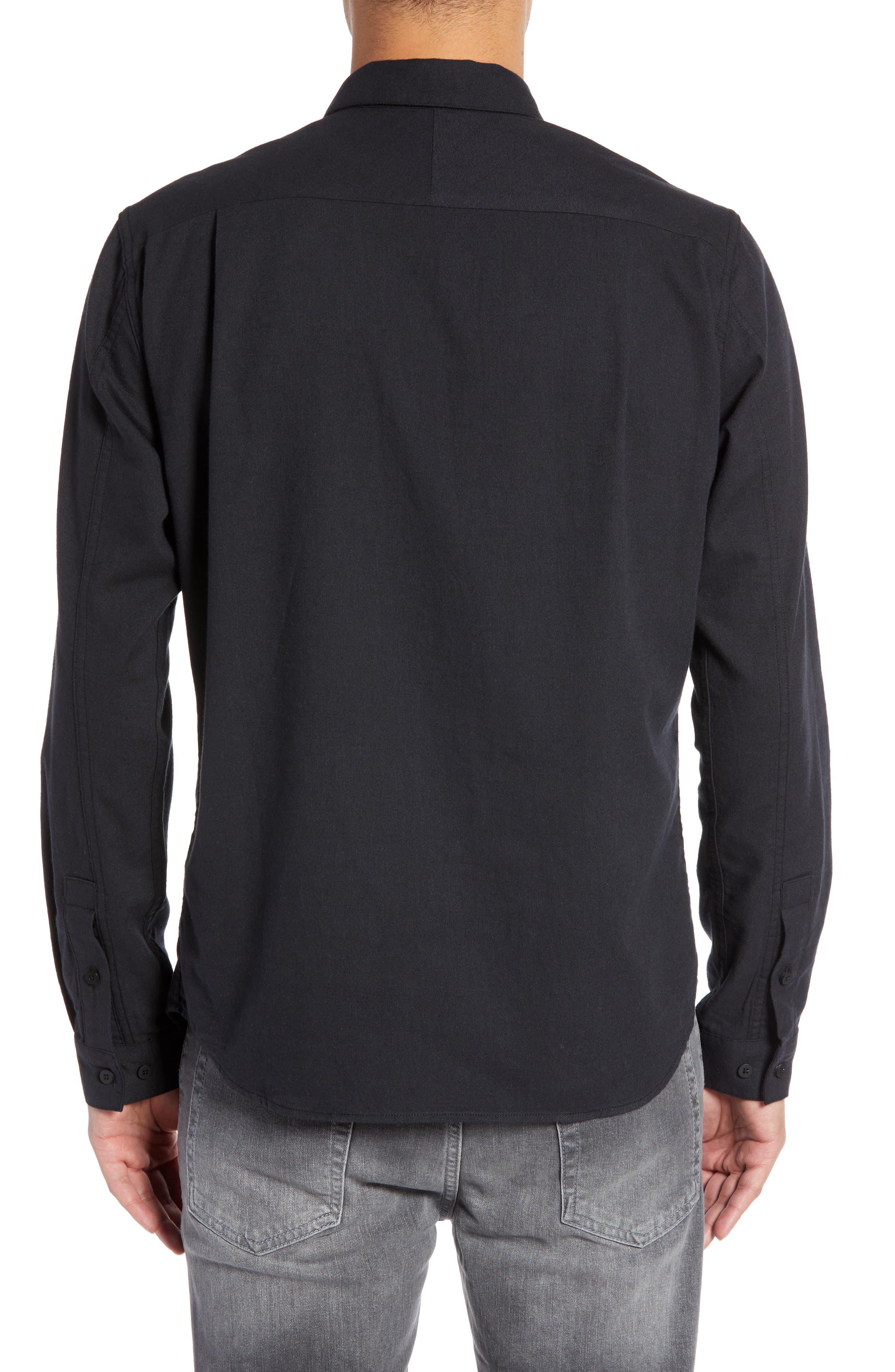 Officer Sport Shirt,                             Alternate thumbnail 3, color,                             MIDNIGHT