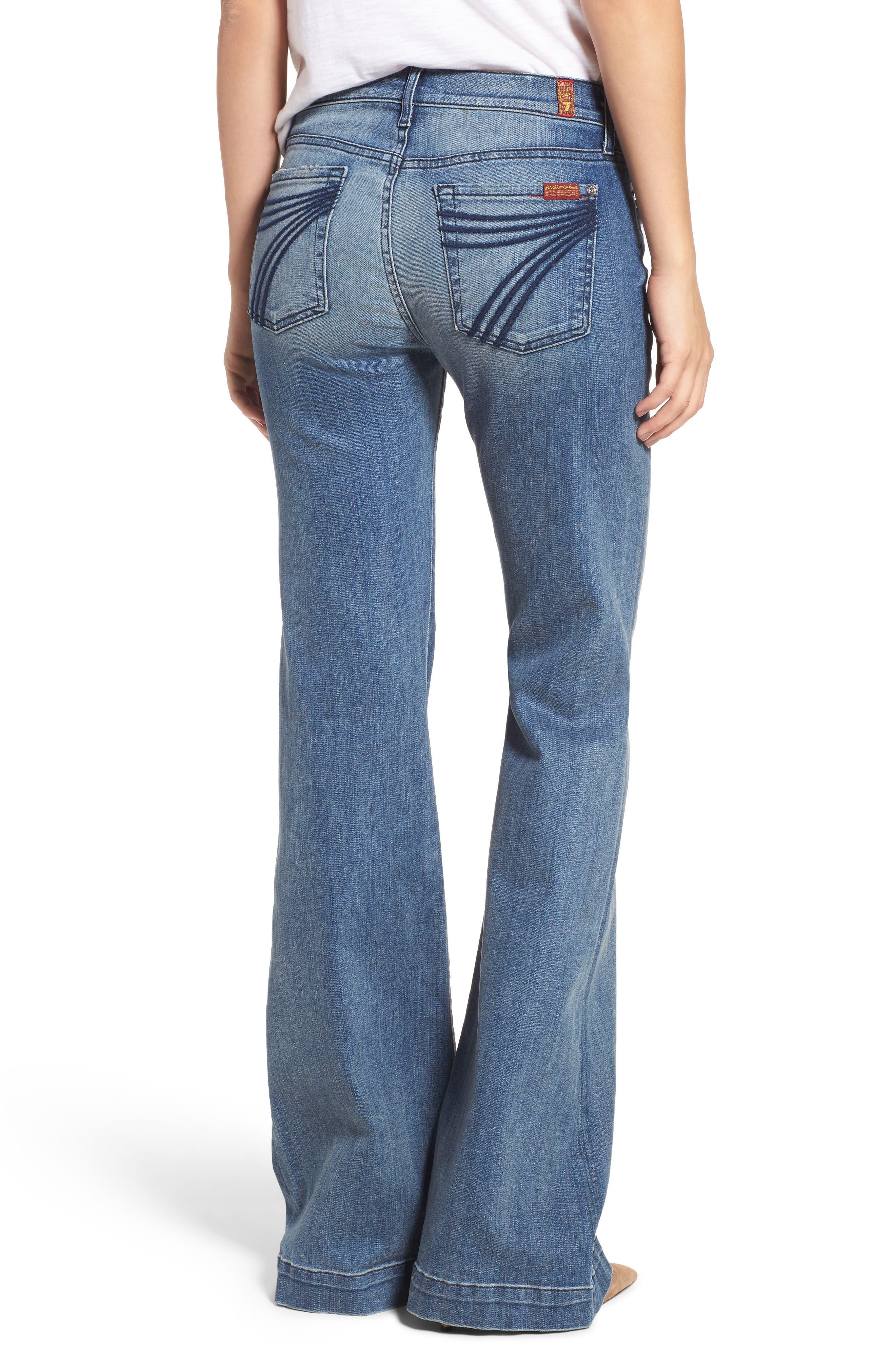 Tailorless Dojo Wide Leg Jeans,                             Alternate thumbnail 2, color,                             402