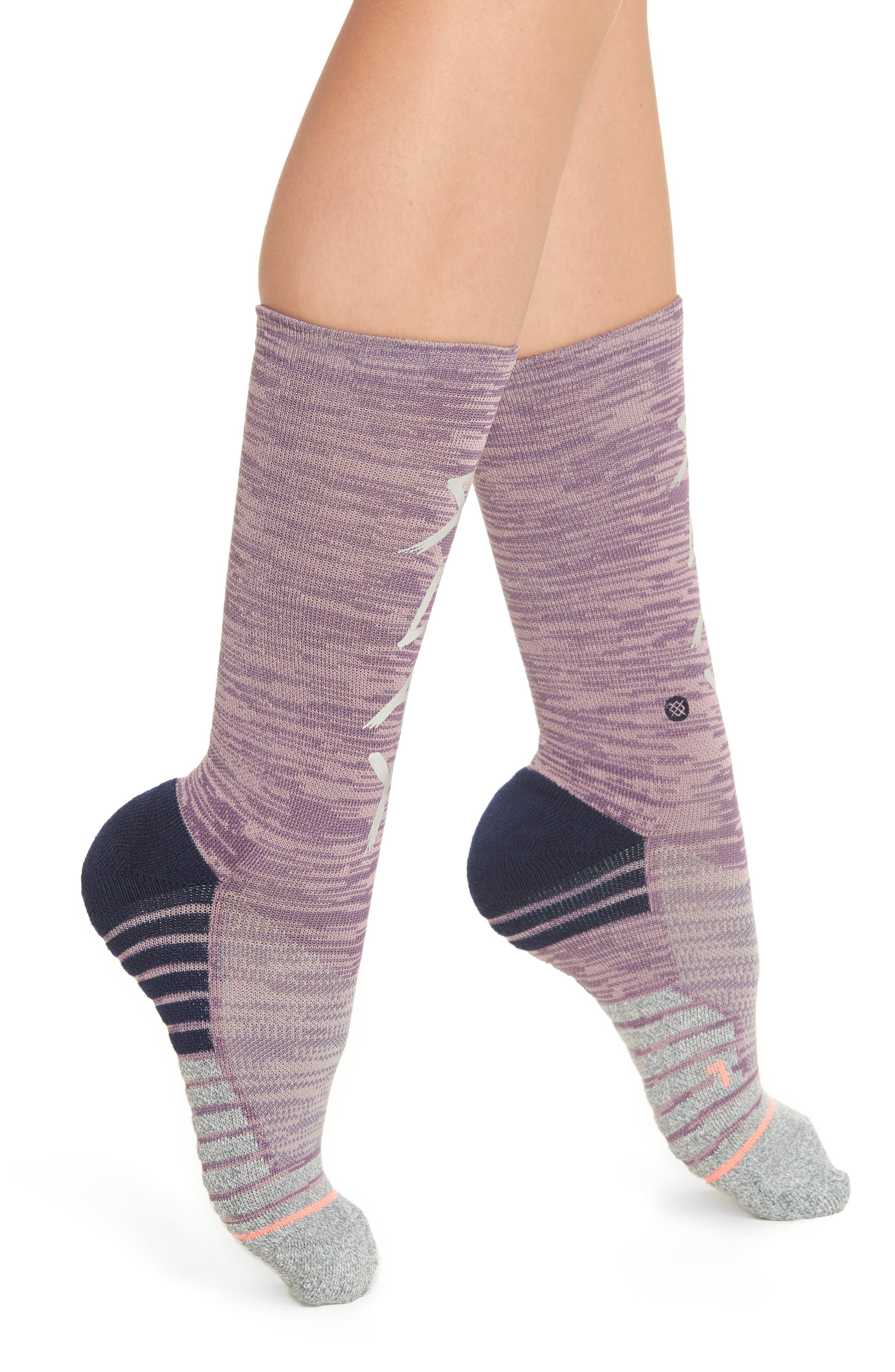 Slay Girl Athletic Crew Socks,                             Main thumbnail 1, color,