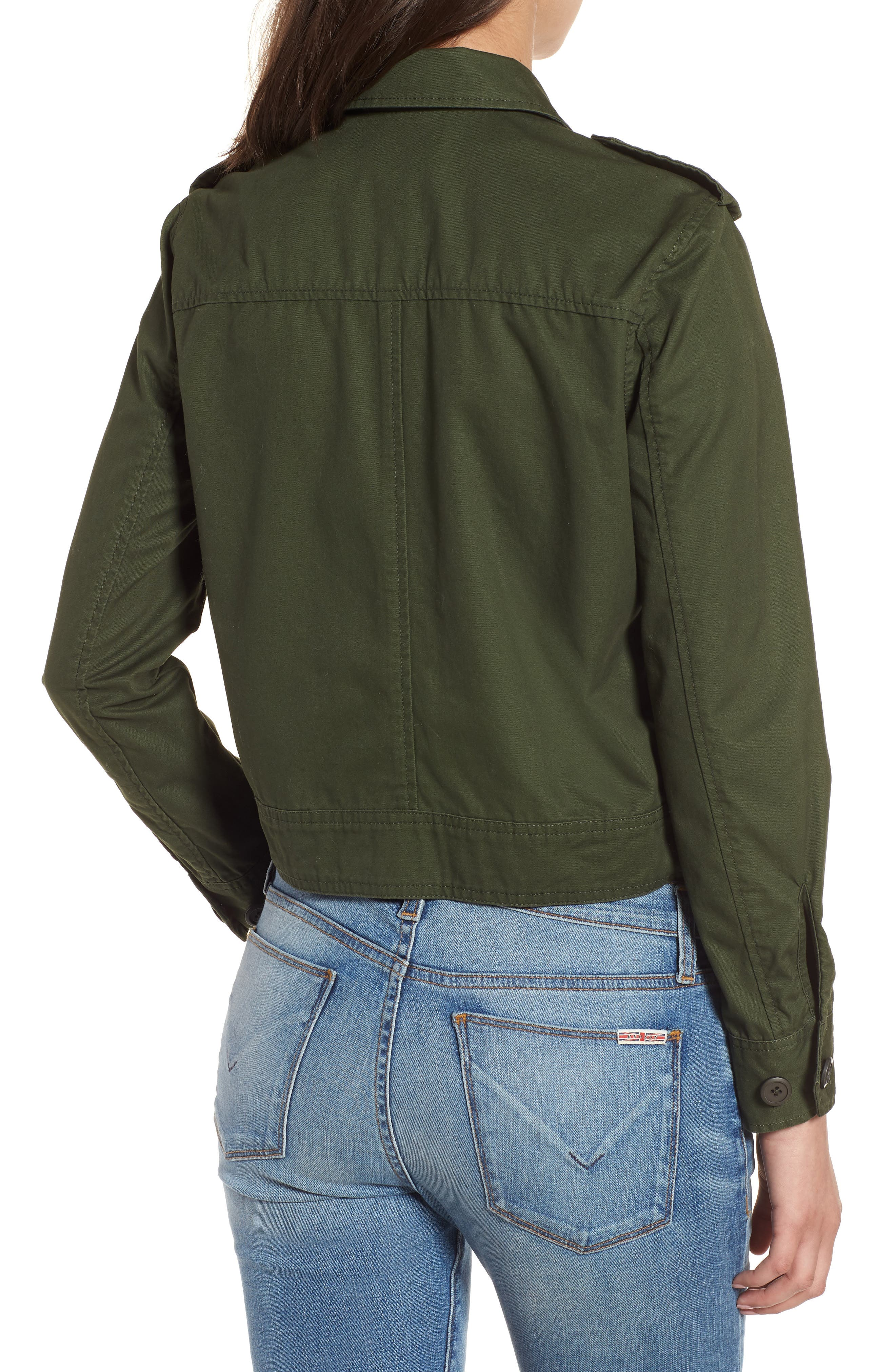 Maddox Cotton Twill Army Jacket,                             Alternate thumbnail 2, color,                             301