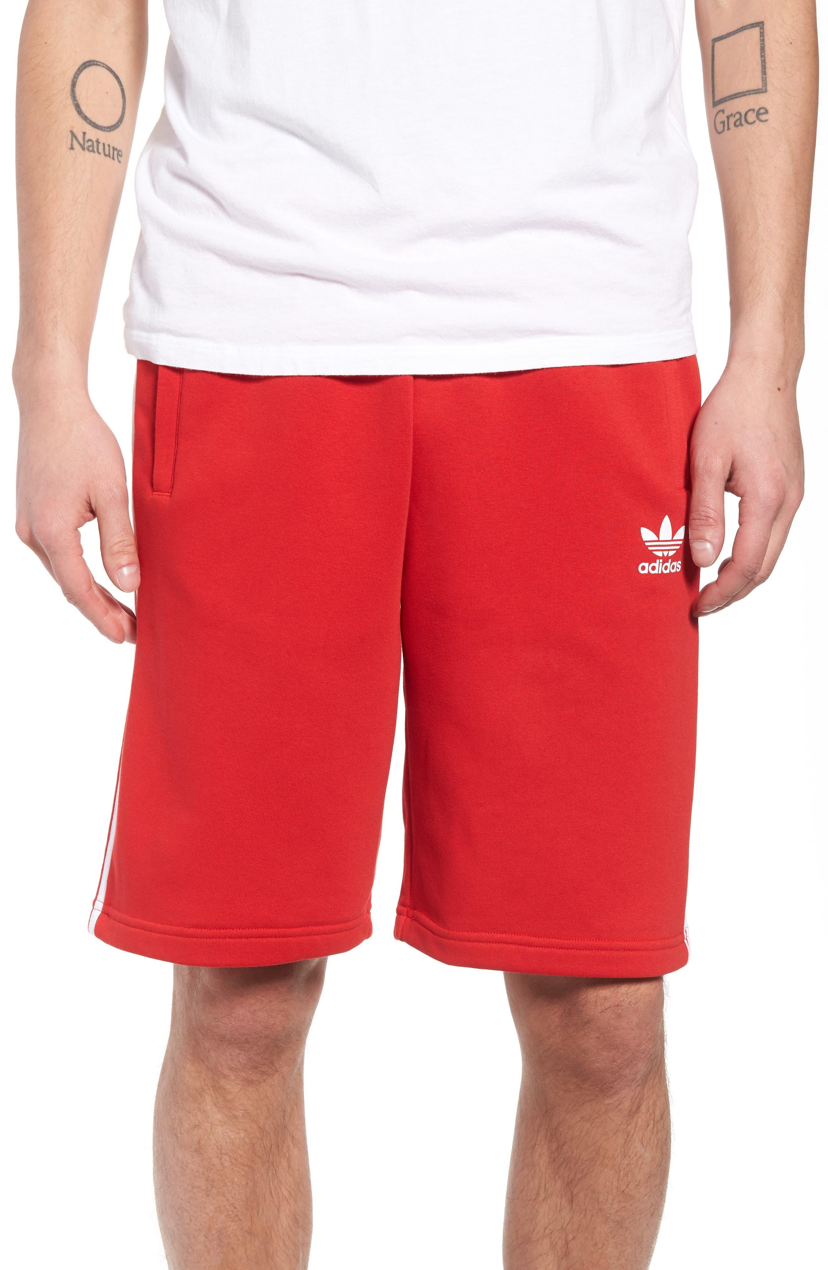 3-Stripes Shorts,                         Main,                         color, 610