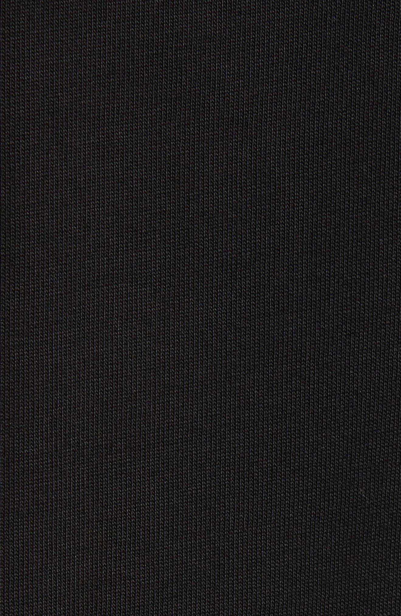 Gathered Waist Dress,                             Alternate thumbnail 5, color,                             001
