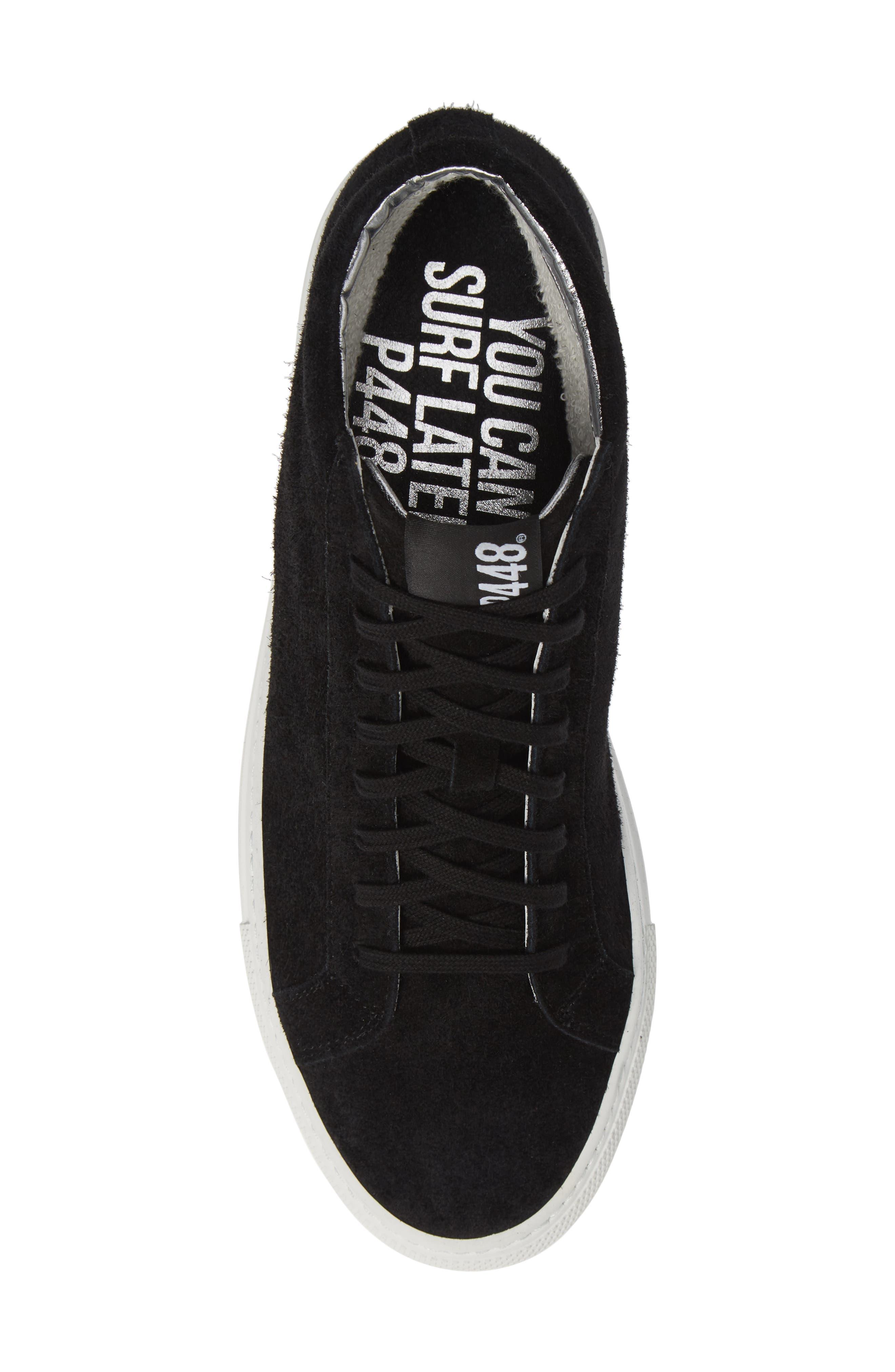A8Elevent Mid Sneaker,                             Alternate thumbnail 5, color,                             BLACK BRUSH