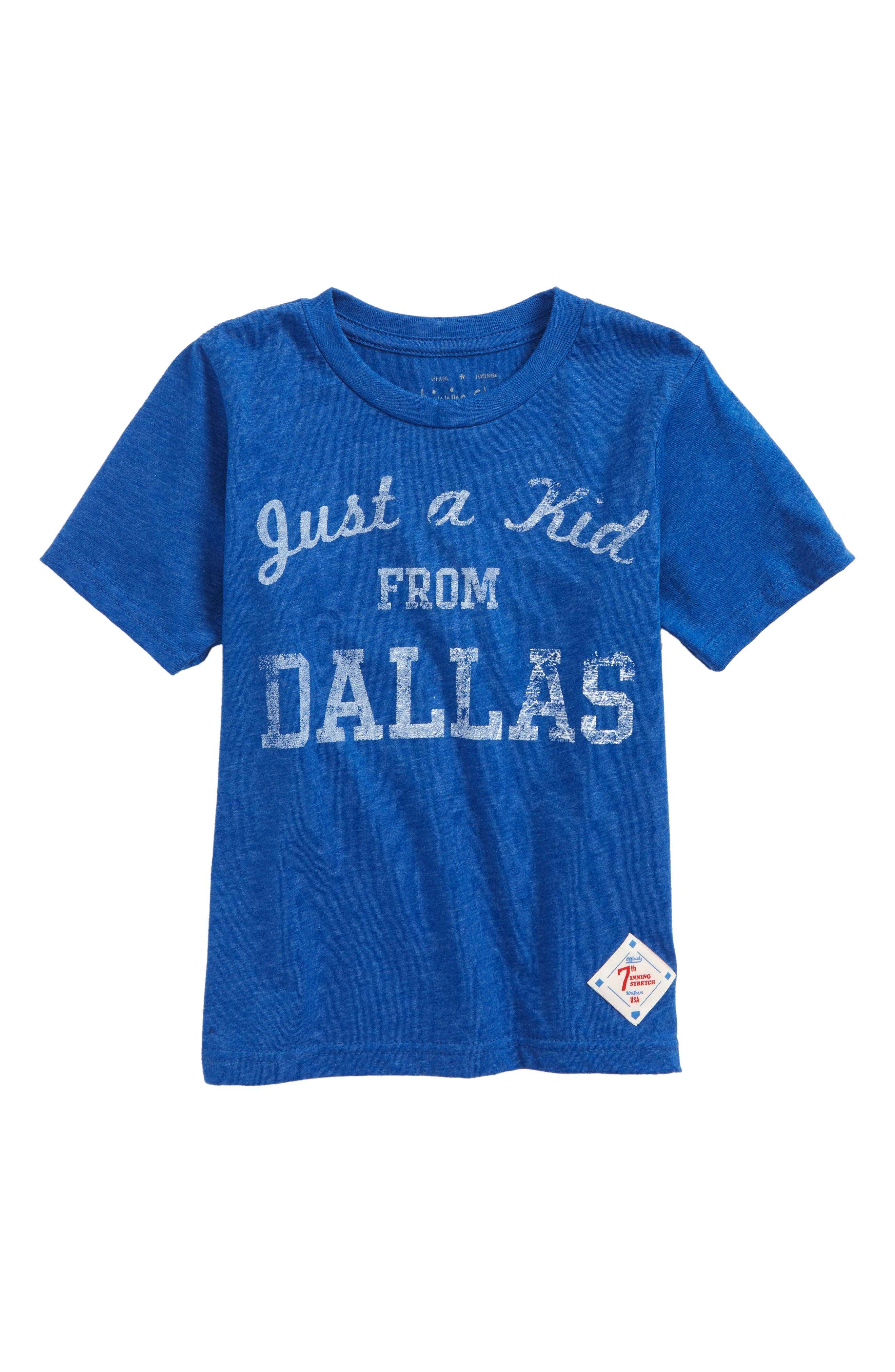 Just a Kid from Dallas T-Shirt,                         Main,                         color, 435