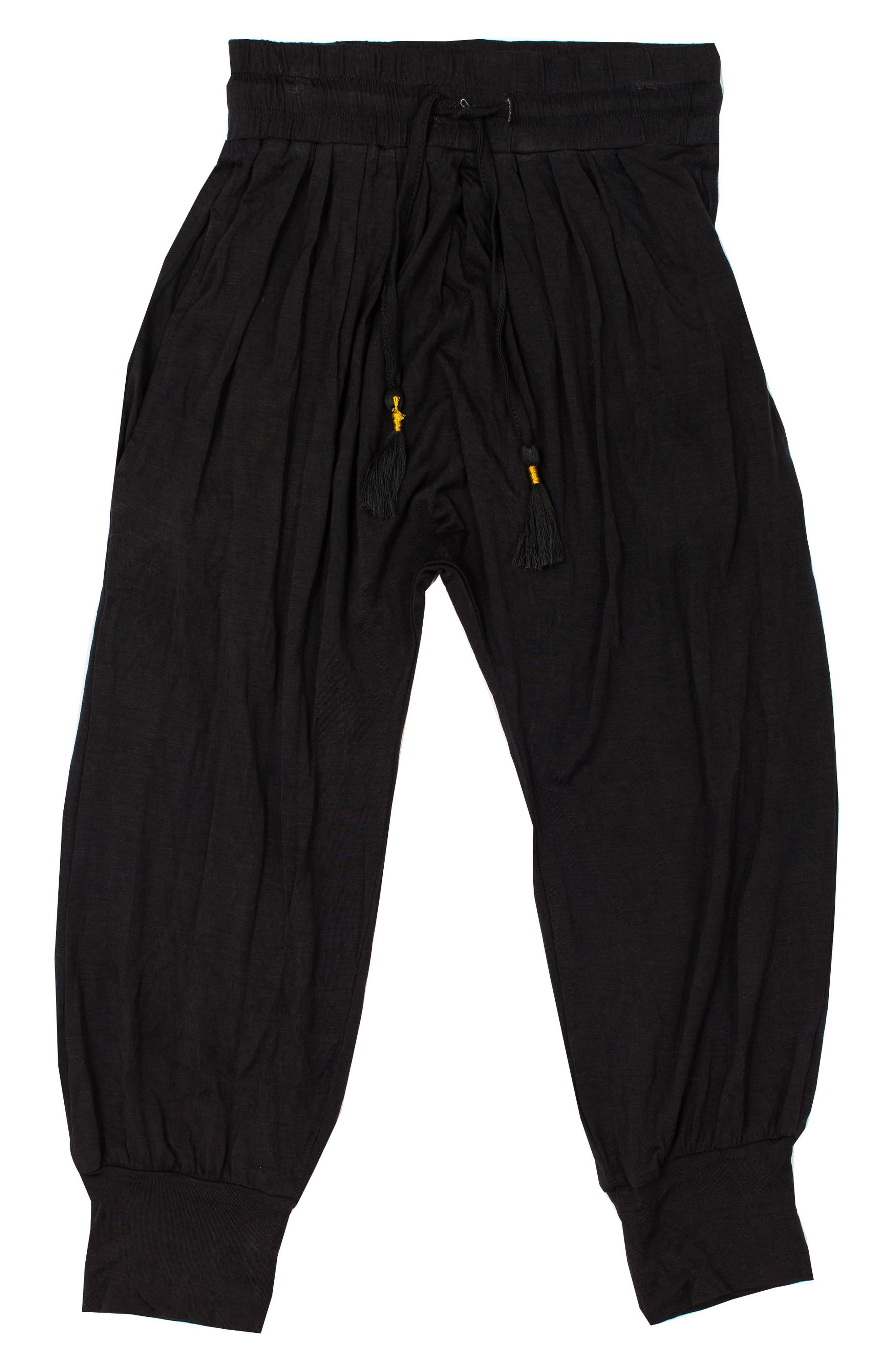Gathered Pants,                             Main thumbnail 1, color,                             TITANIUM