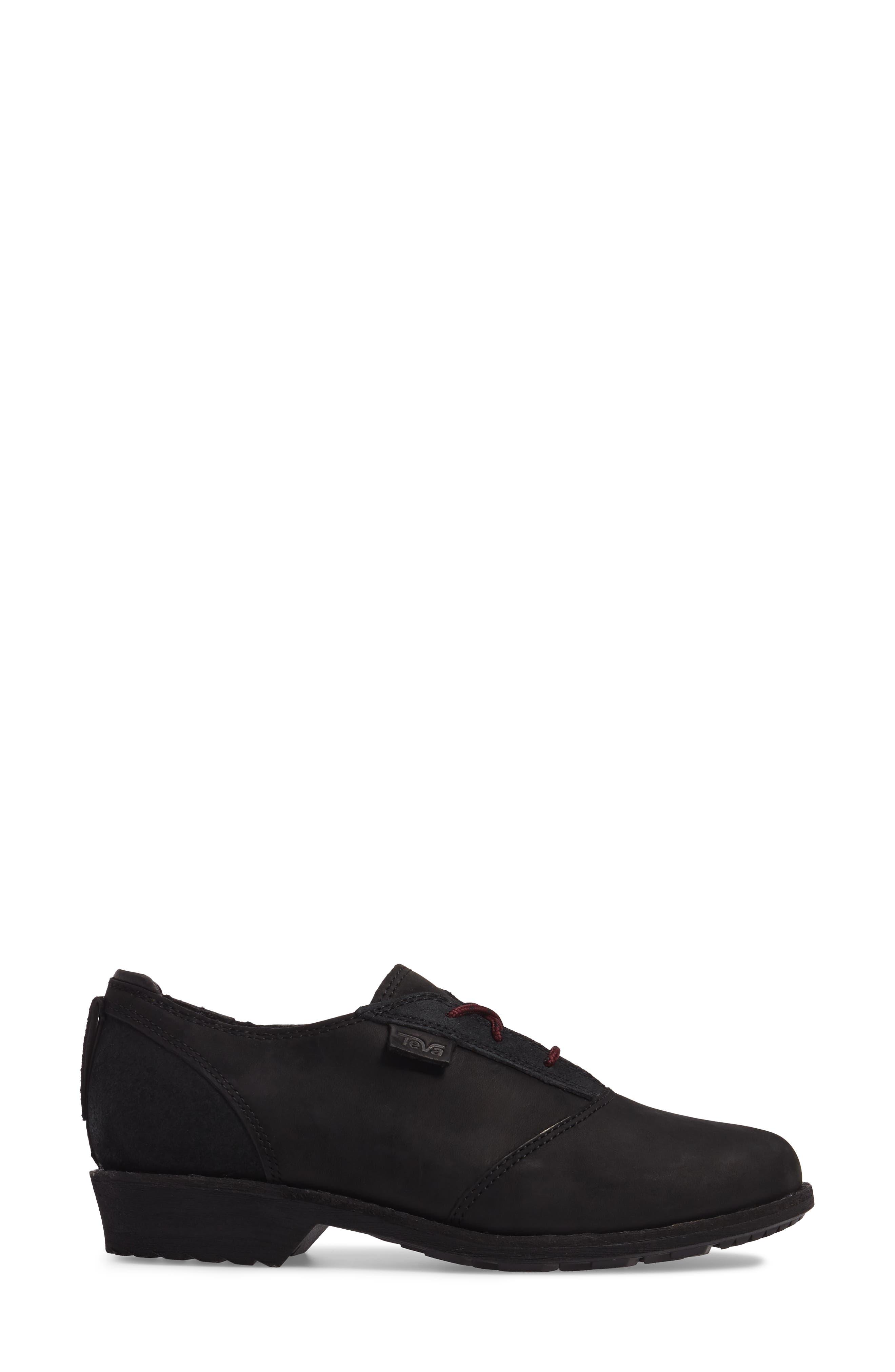 De La Vina Dos Waterproof Sneaker,                             Alternate thumbnail 3, color,                             001