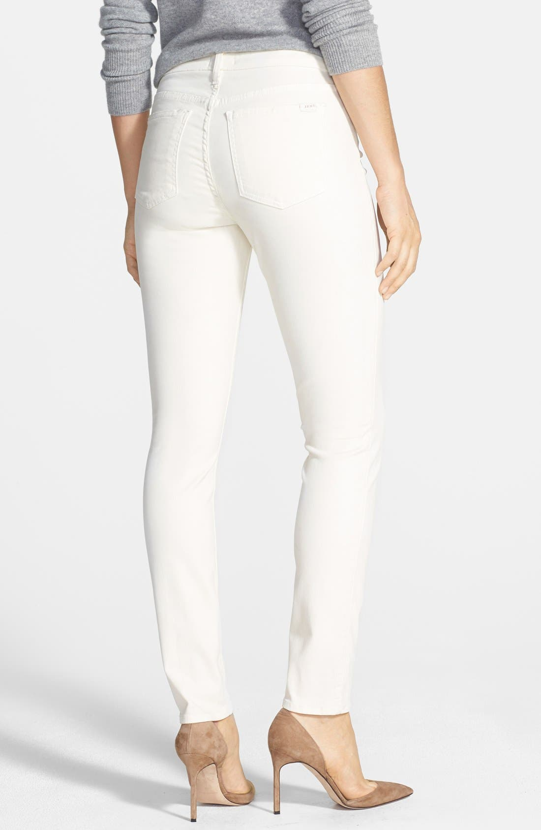 Colored Stretch Denim Skinny Jeans,                             Alternate thumbnail 13, color,