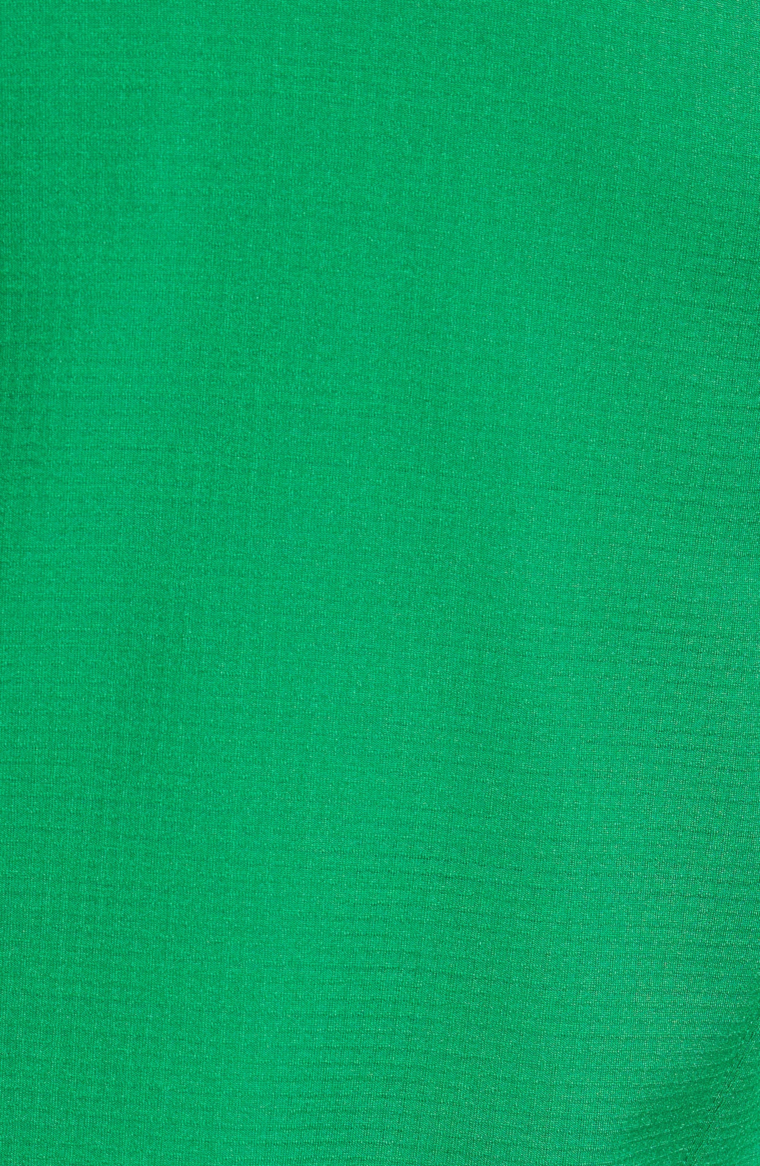Borod Zip Fleece Jacket,                             Alternate thumbnail 5, color,                             PRIMARY GREEN/GARDEN GREEN