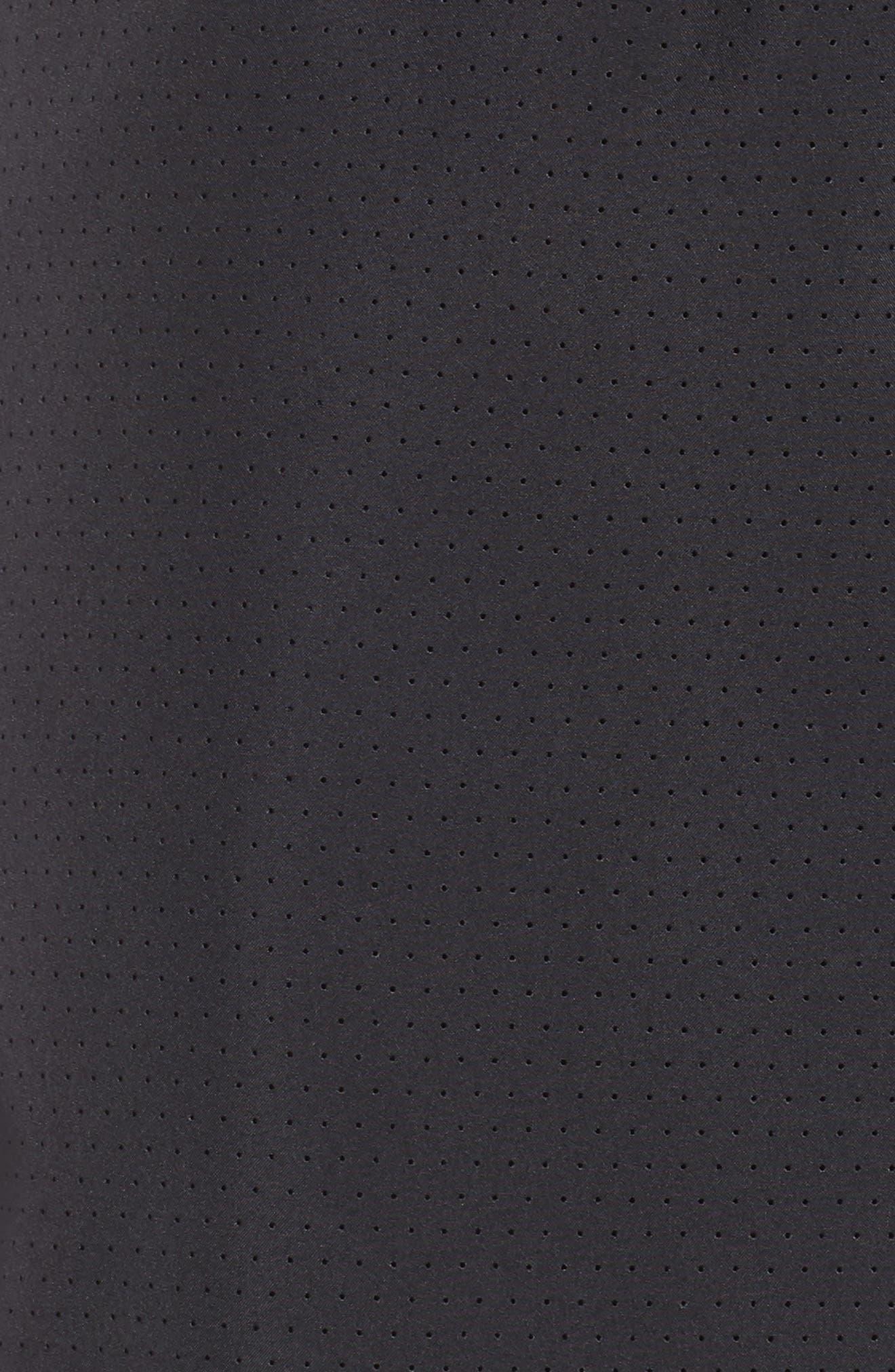 Running Challenger 2-in-1 Shorts,                             Alternate thumbnail 4, color,                             BLACK/ BLACK