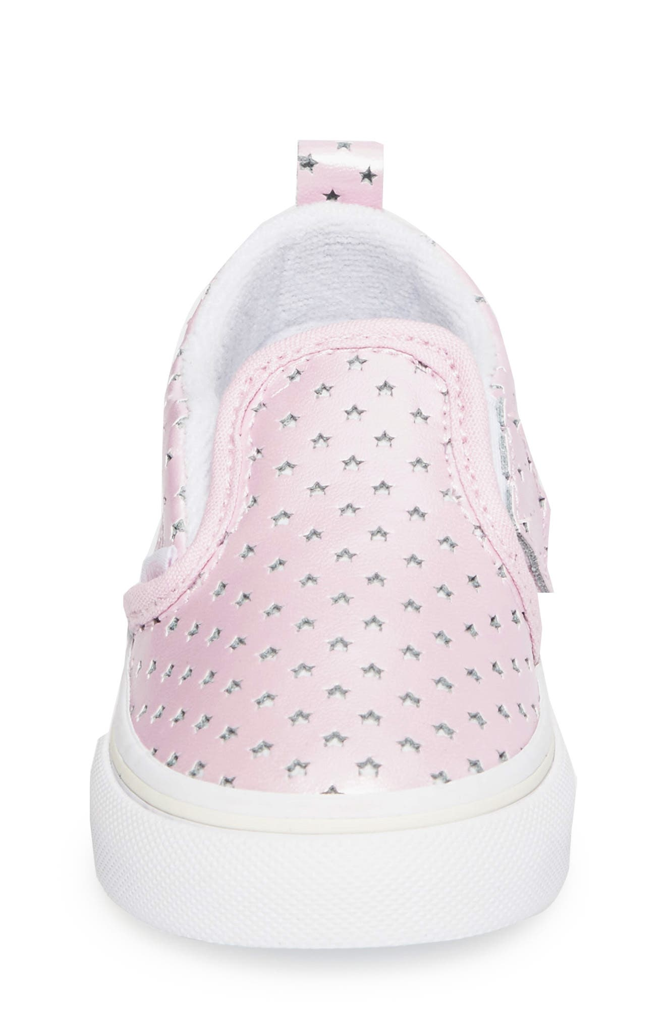 Classic Perforated Slip-On Sneaker,                             Alternate thumbnail 4, color,                             650