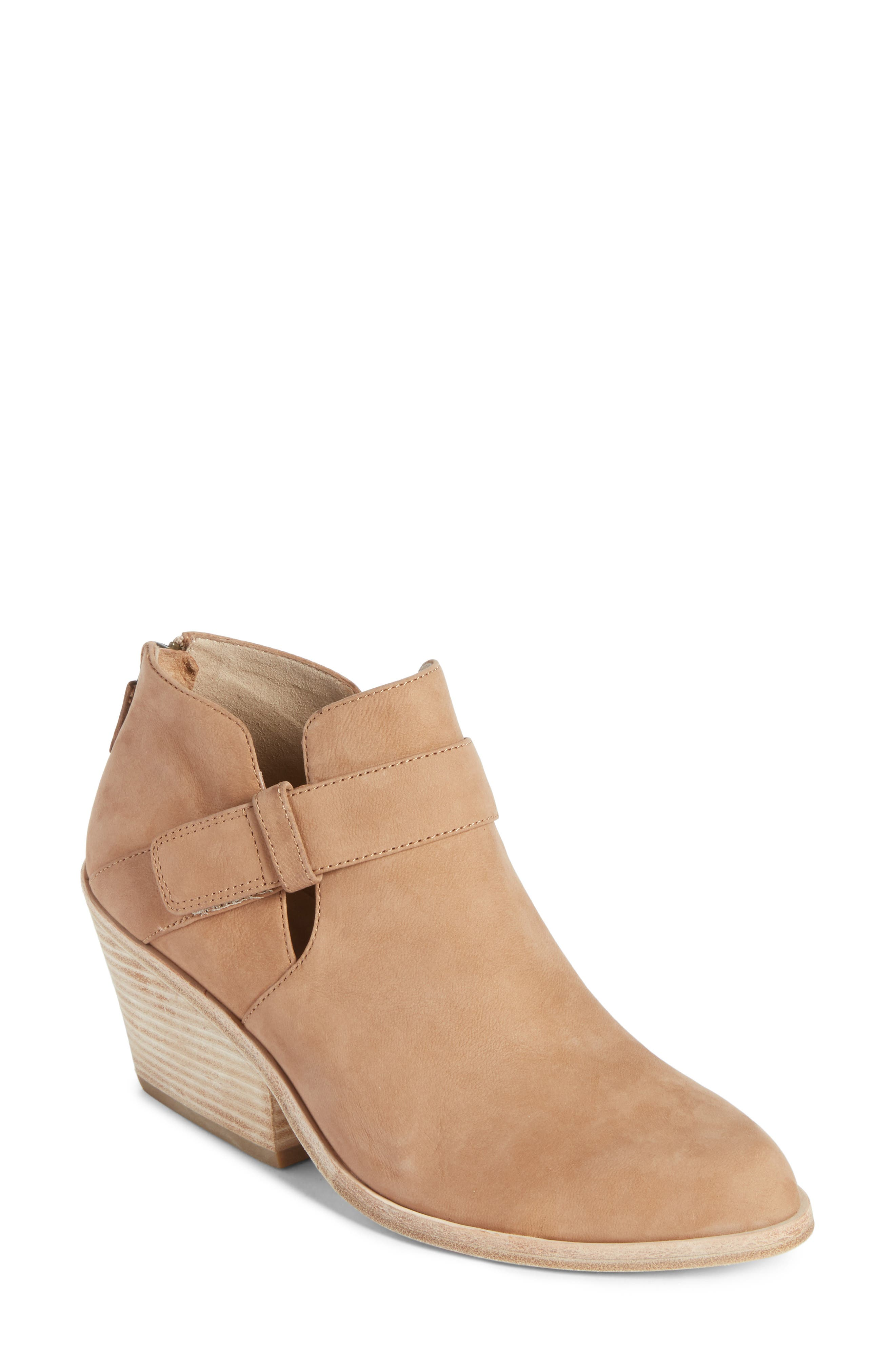 Ives Bootie,                         Main,                         color, WHEAT NUBUCK