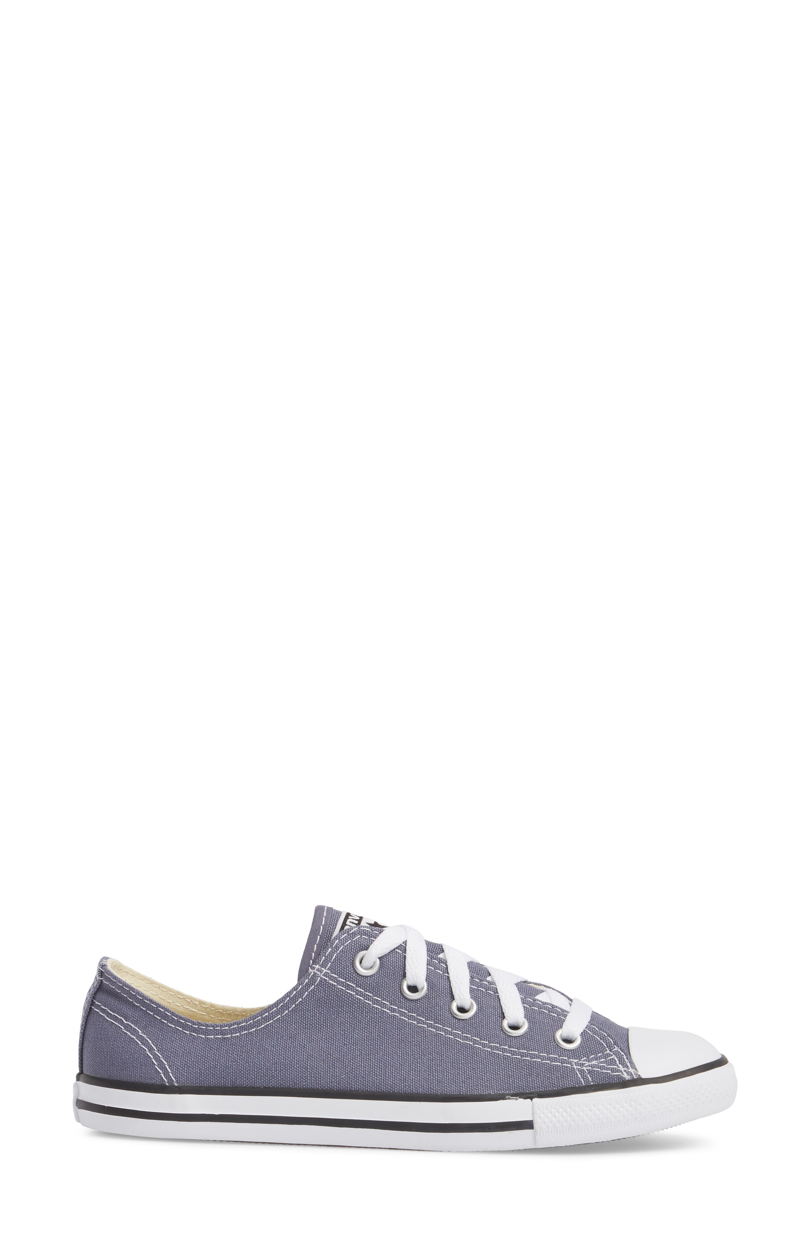 Chuck Taylor<sup>®</sup> All Star<sup>®</sup> Dainty Ox Low Top Sneaker,                             Alternate thumbnail 3, color,                             023