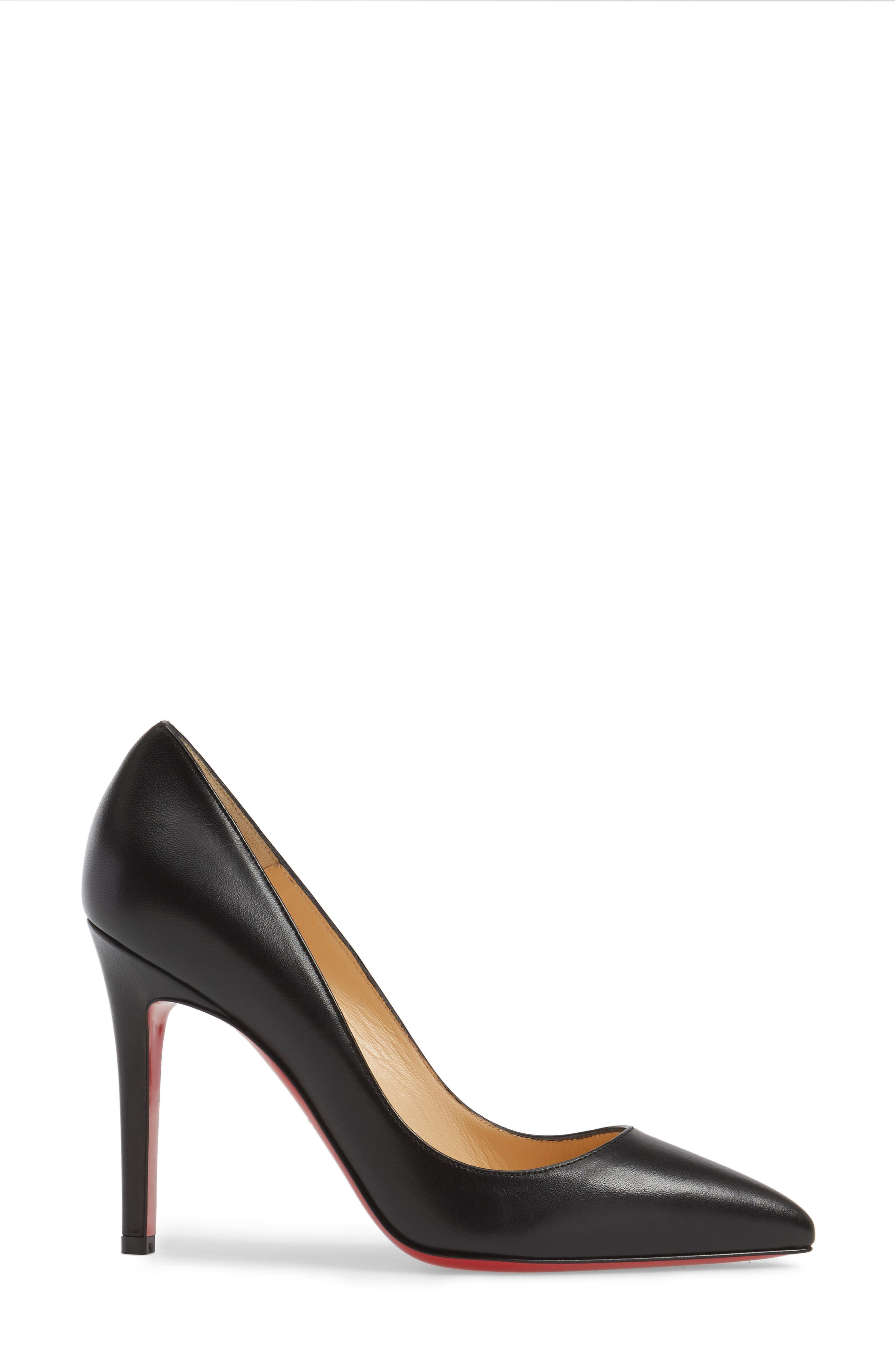 Pigalle Pump,                             Alternate thumbnail 3, color,                             BLACK
