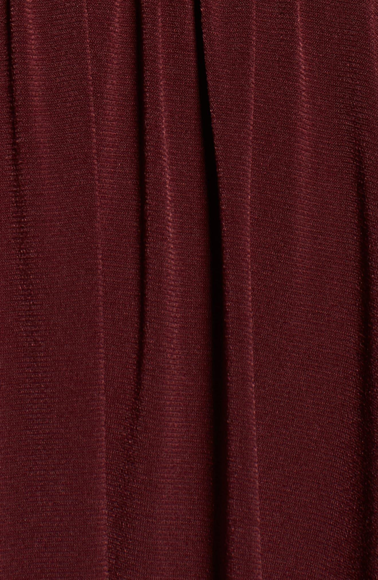Jones Ruched Halter Gown,                             Alternate thumbnail 10, color,