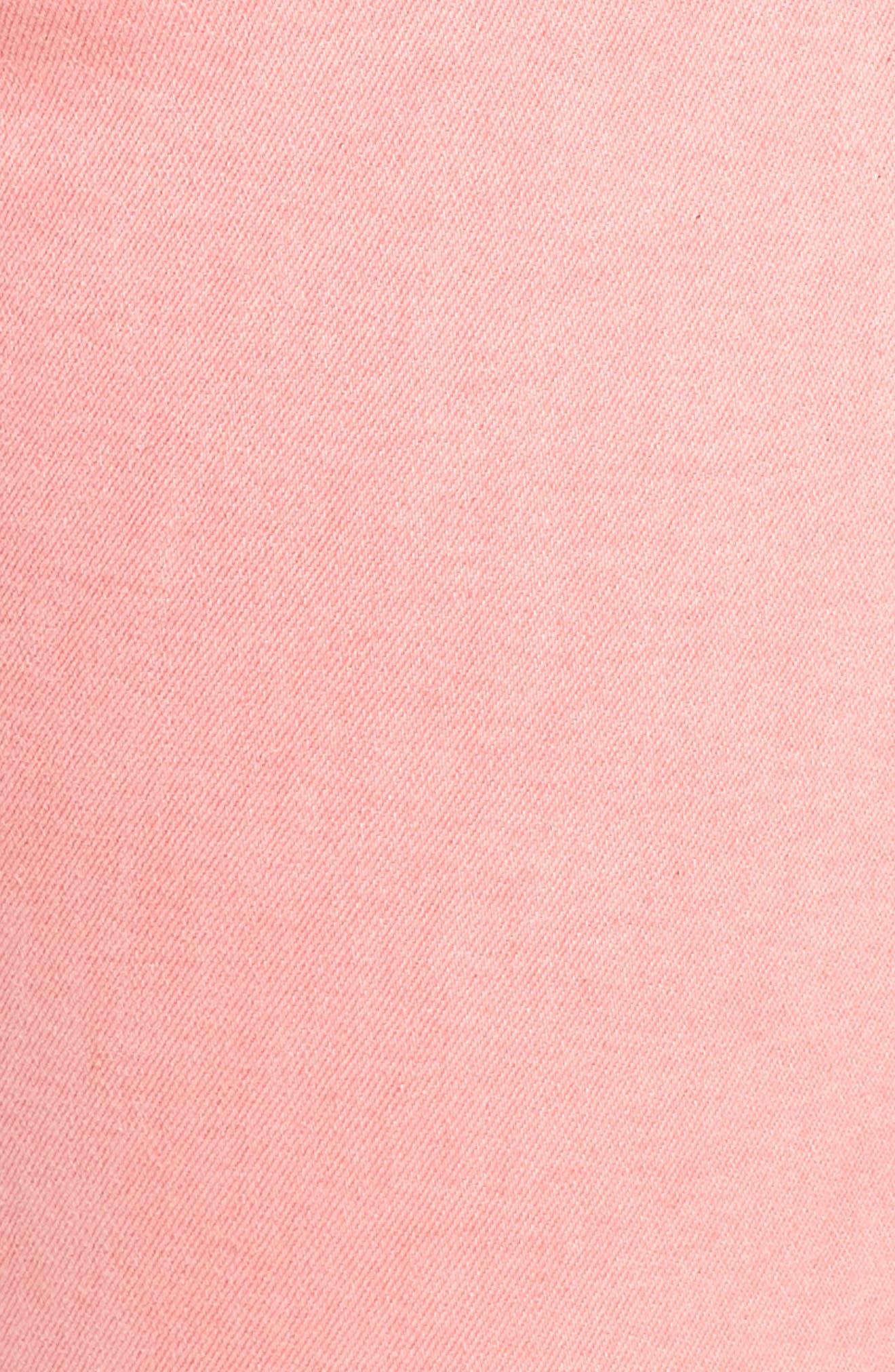 SANCTUARY,                             Social Standard Ankle Skinny Jeans,                             Alternate thumbnail 6, color,                             DK PNK FIZ