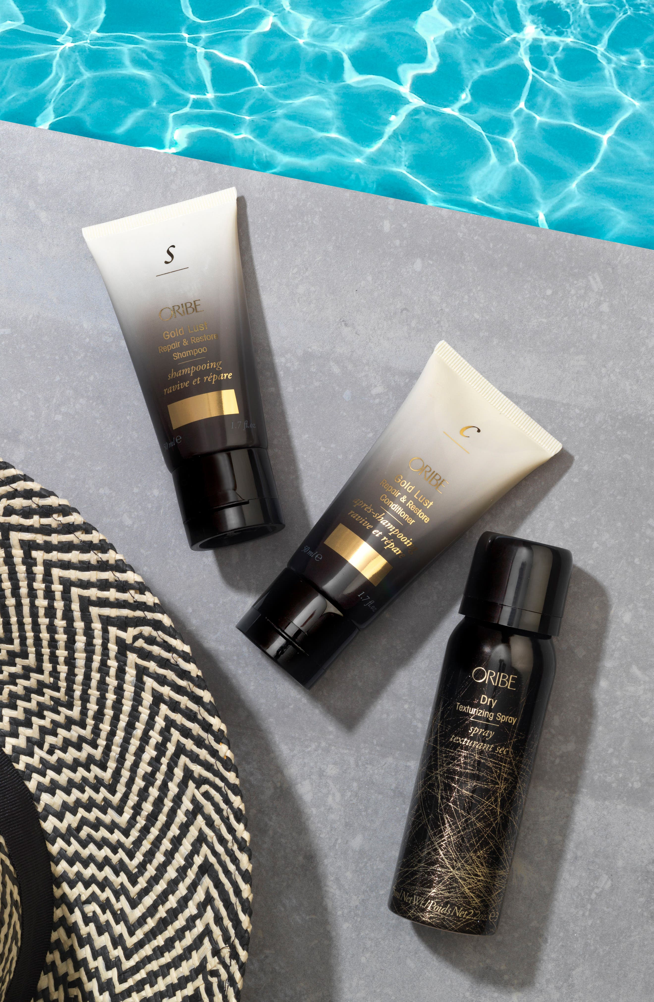 SPACE.NK.apothecary Oribe Gold Lust Set,                             Alternate thumbnail 7, color,                             000