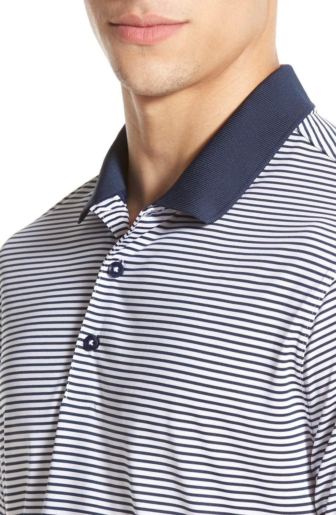'Victory Stripe' Dri-FIT Golf Polo,                             Alternate thumbnail 24, color,