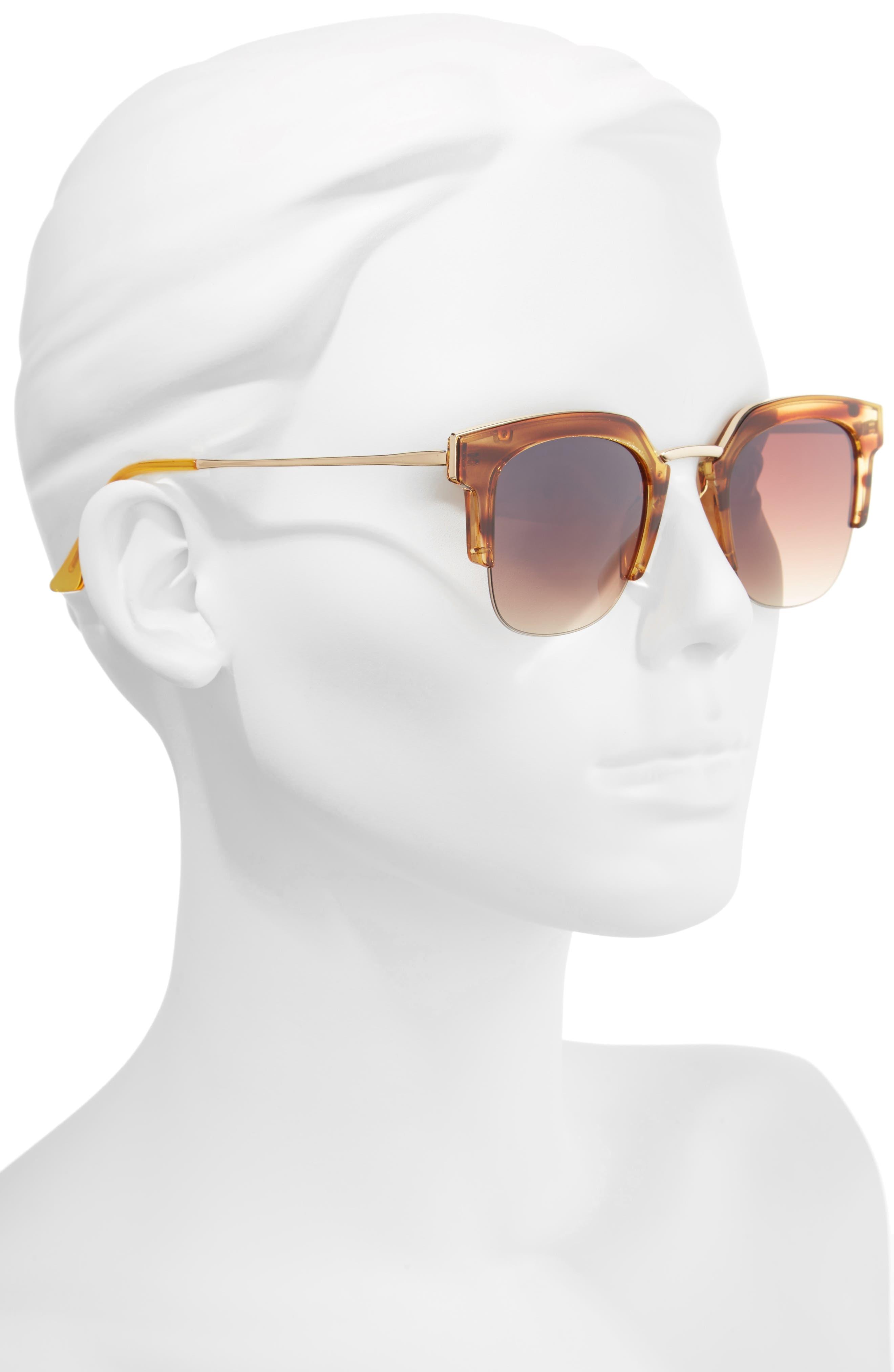 47mm Retro Sunglasses,                             Alternate thumbnail 2, color,                             200